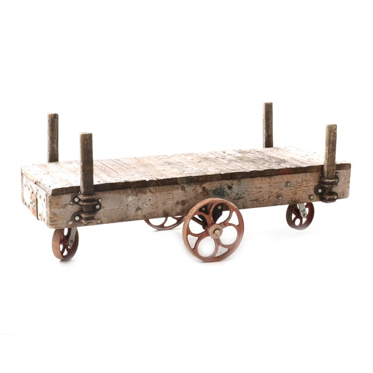 Industrial Style Cart