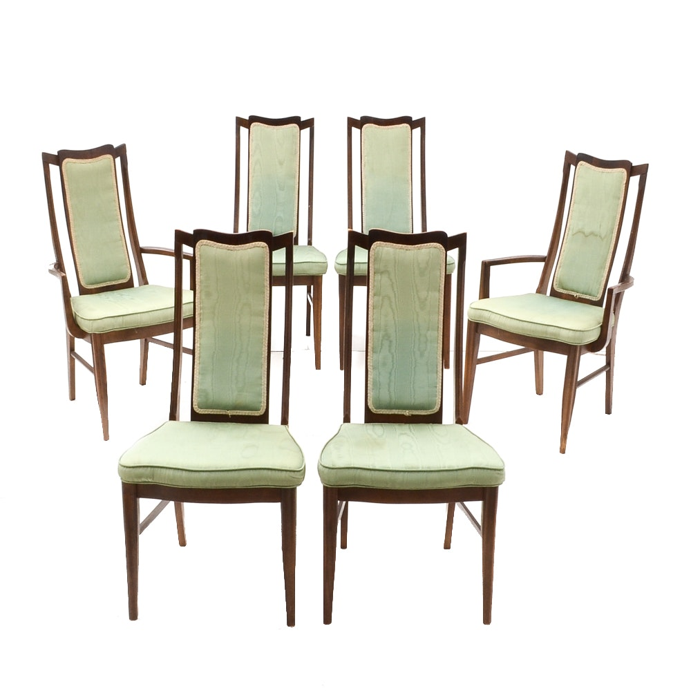 Set Of Six Dining Chairs By Bassett Chair Co.