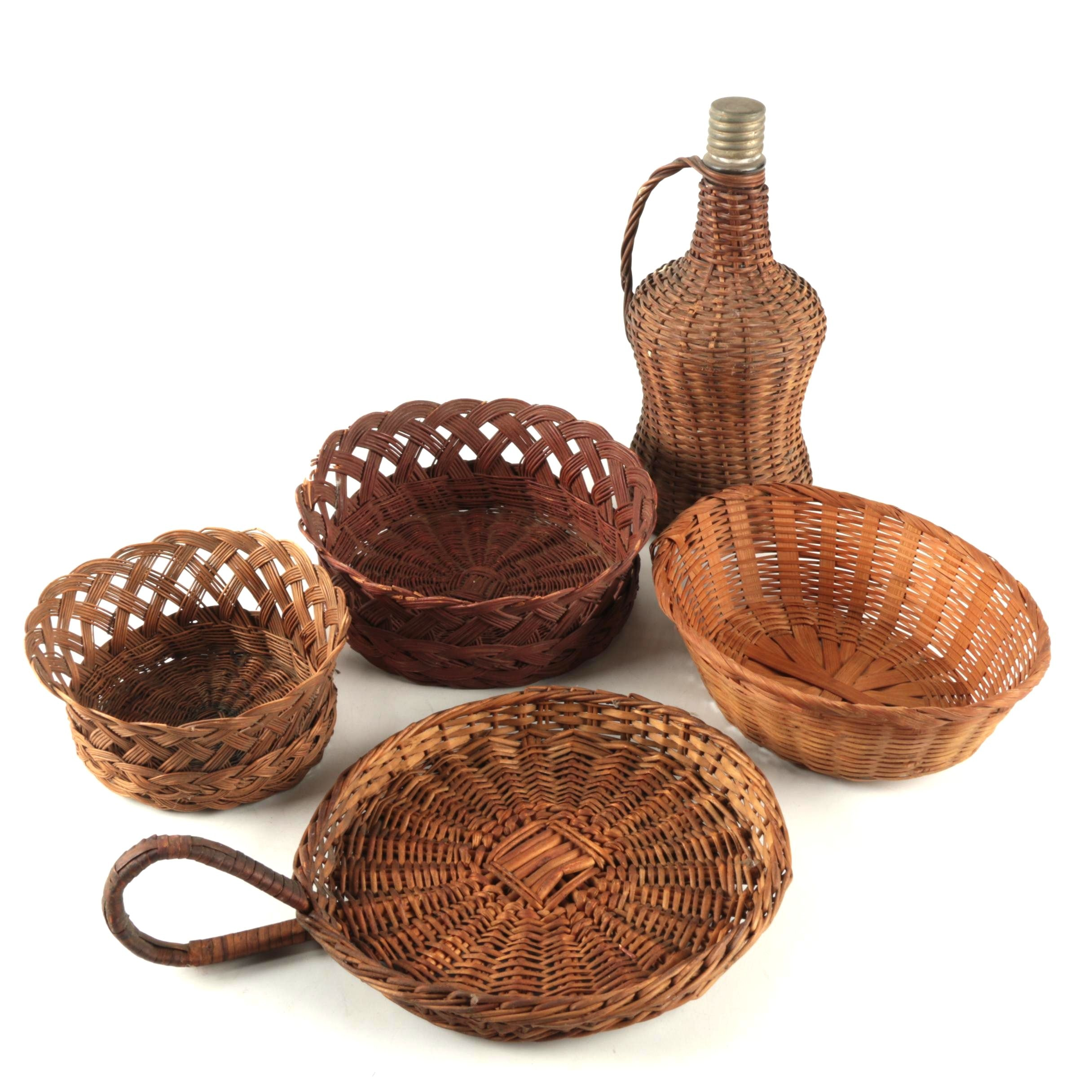 Assortment of Woven Baskets