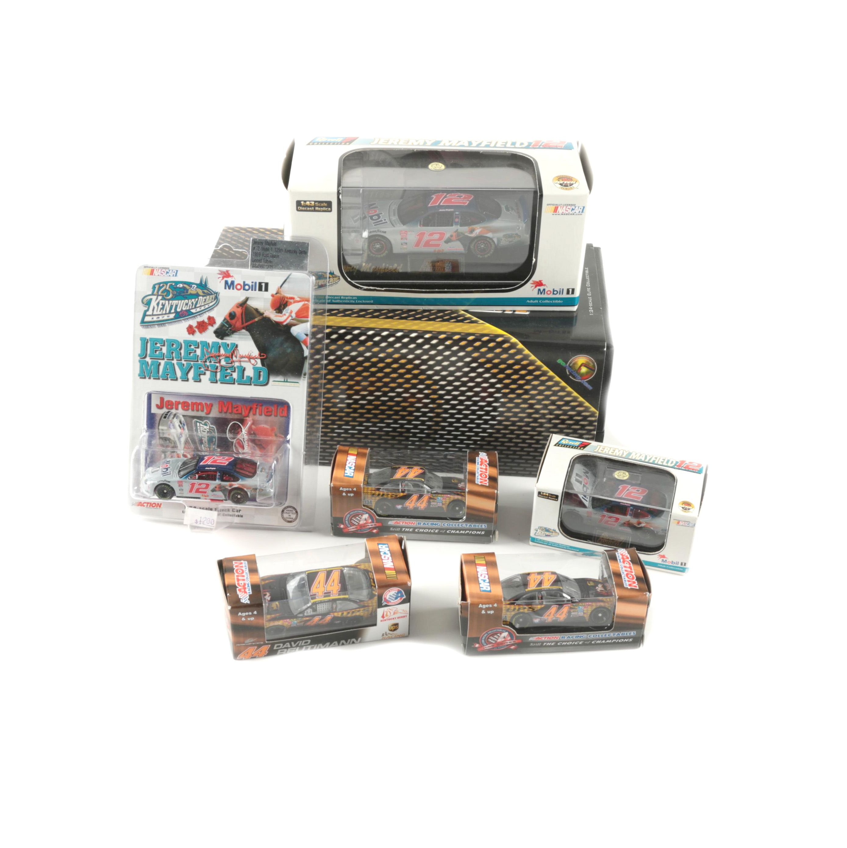Collection of NASCAR Die-Cast Cars