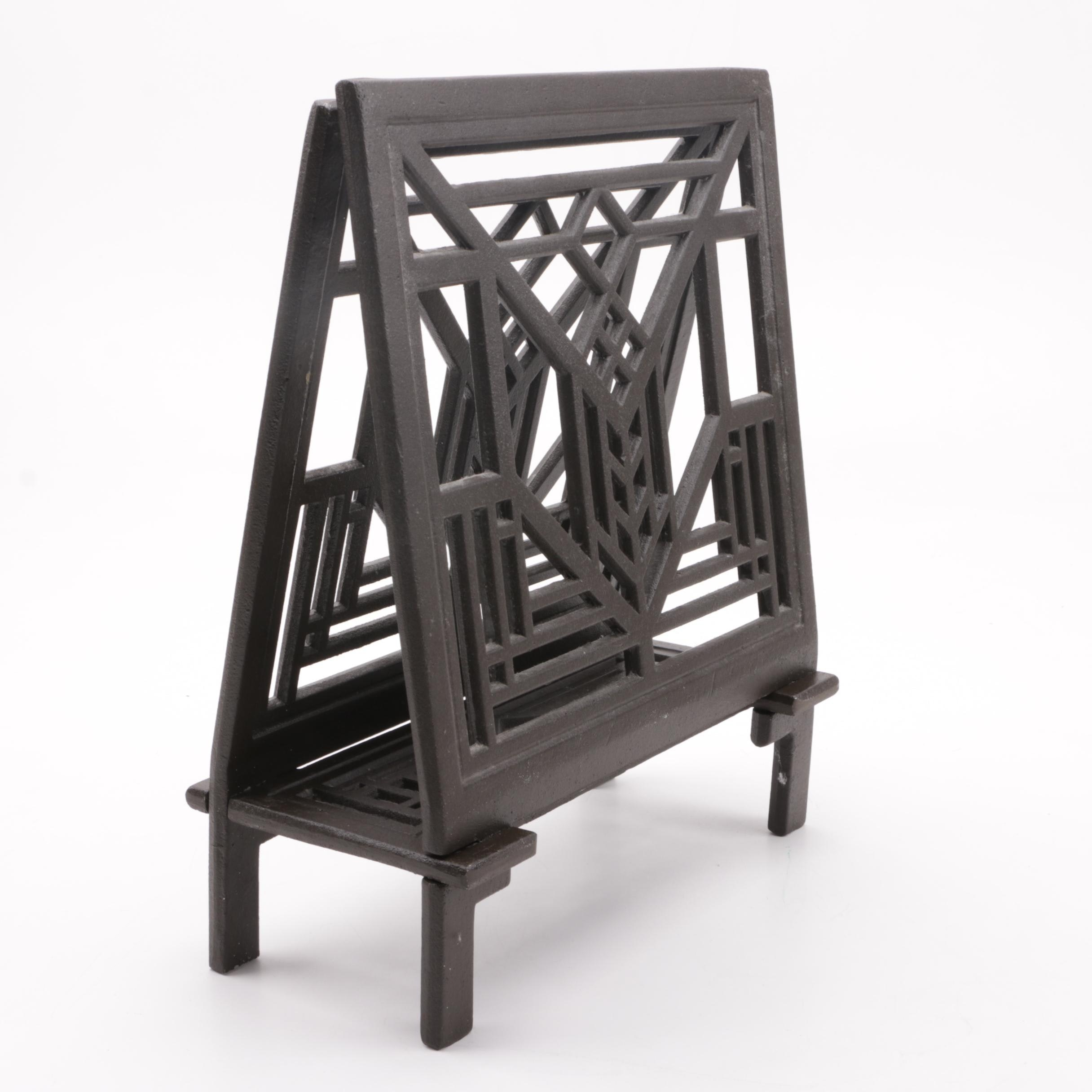 Cast Iron Magazine Holder