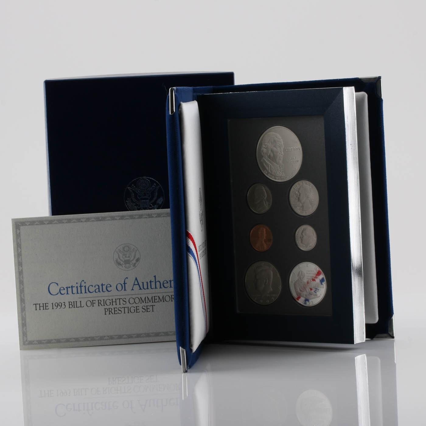 1993 United States Mint Prestige Set