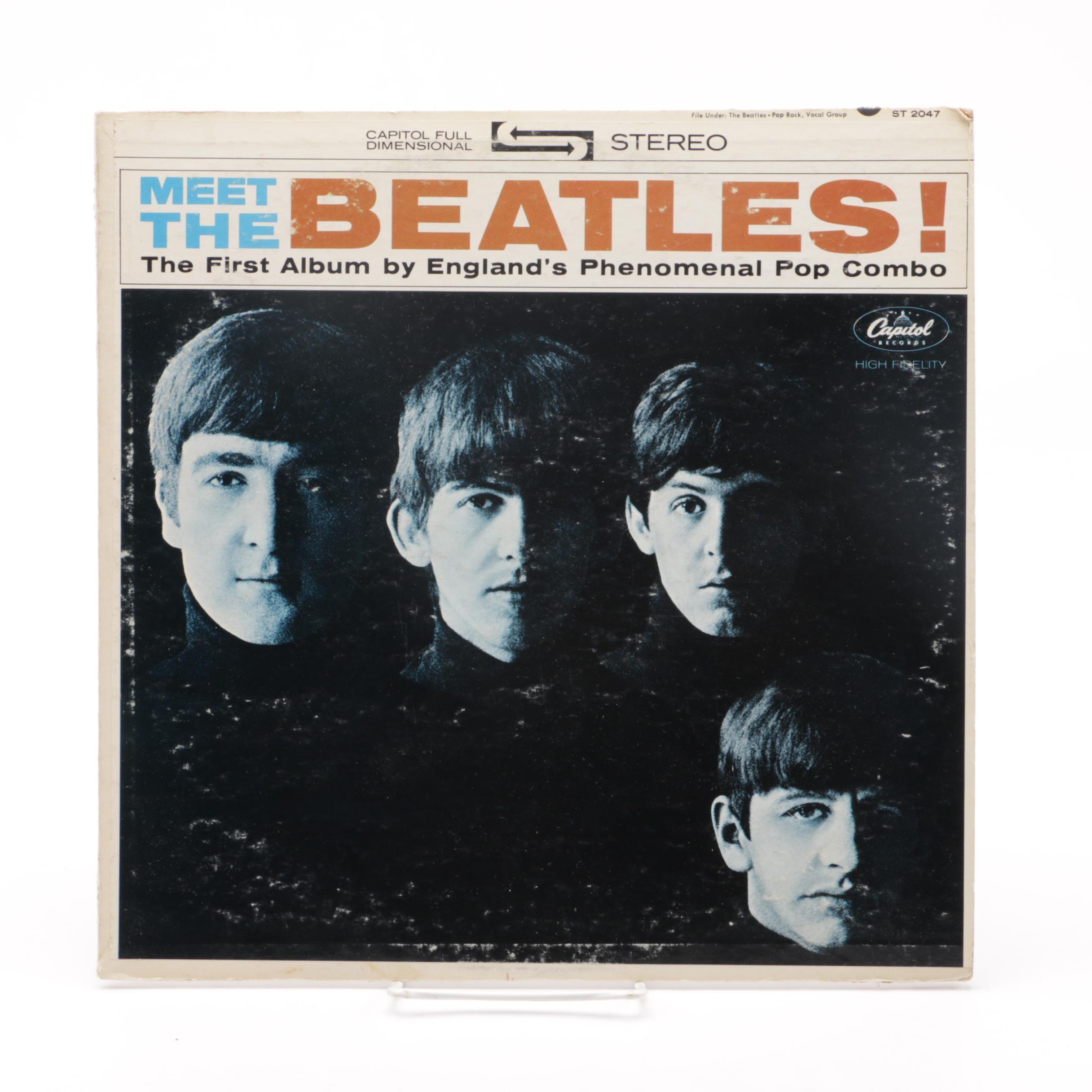 """Meet the Beatles"" Capitol Records LP"