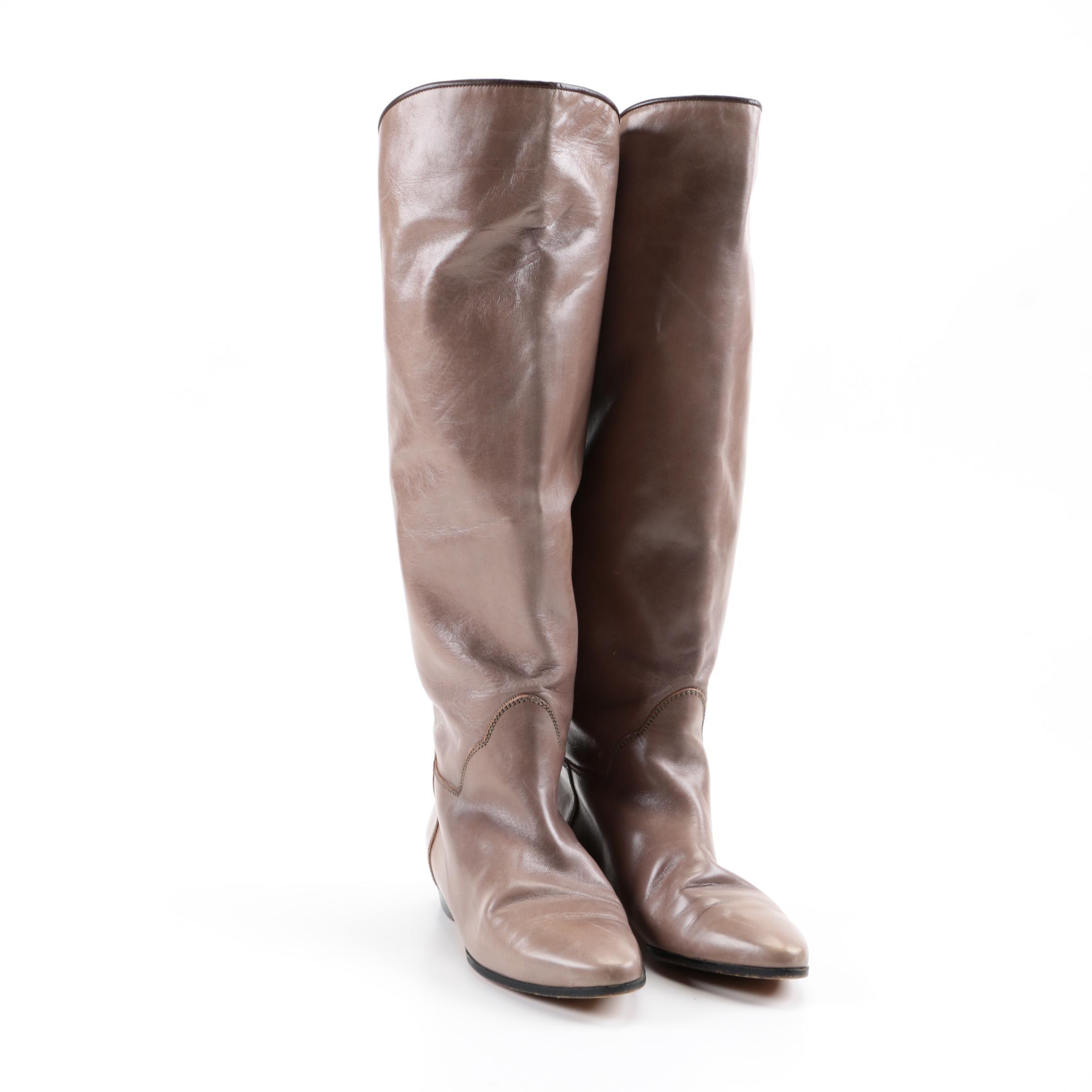Women's Yves Saint Laurent Leather Boots