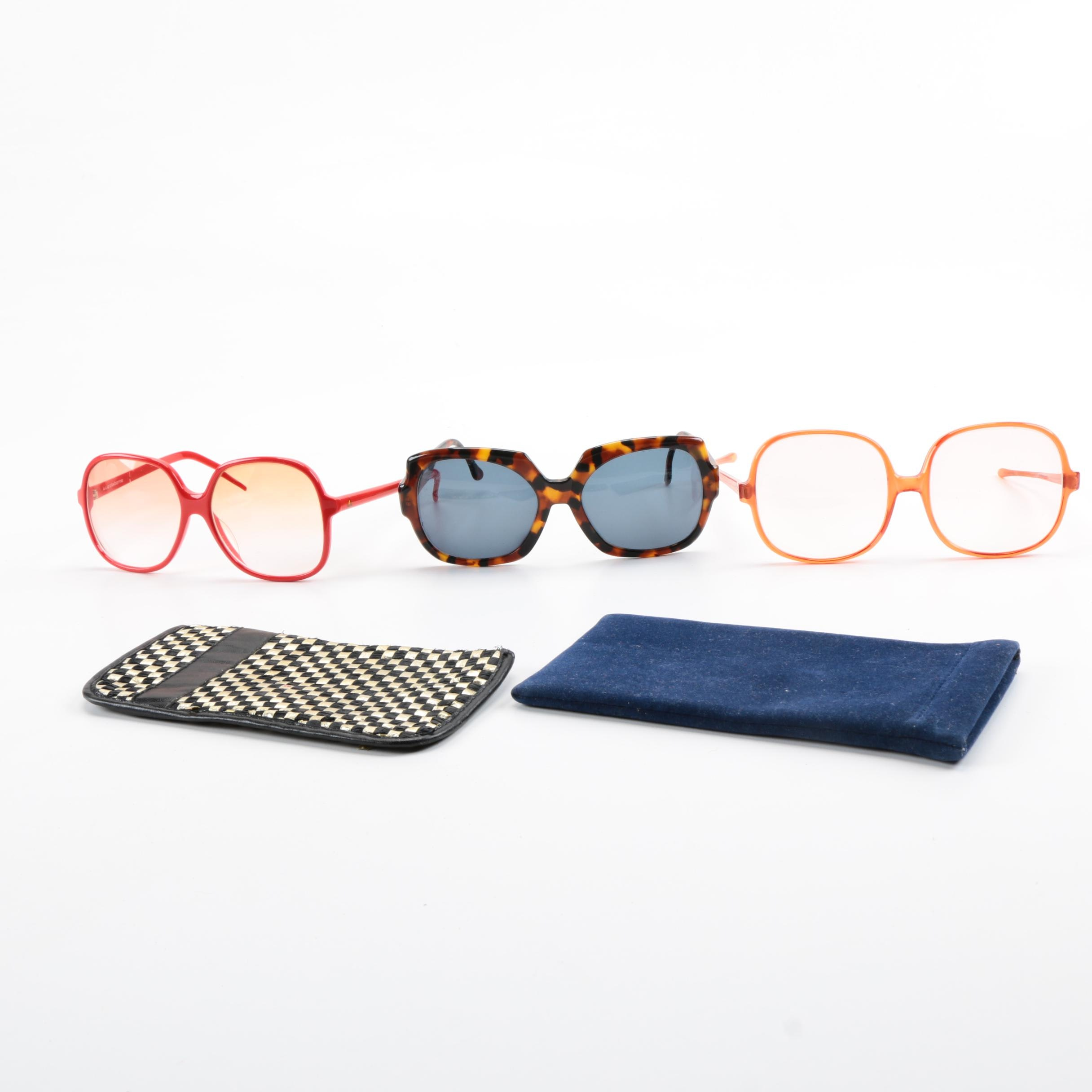 Women's Vintage Eyewear and Cases