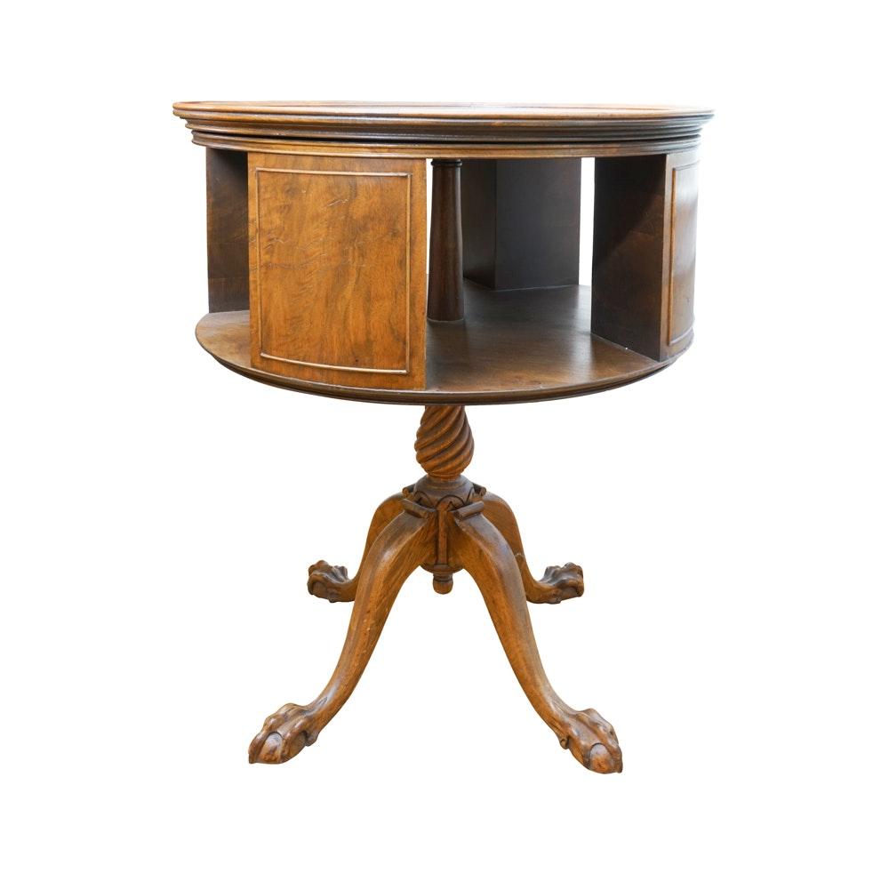 Open Design Drum Table