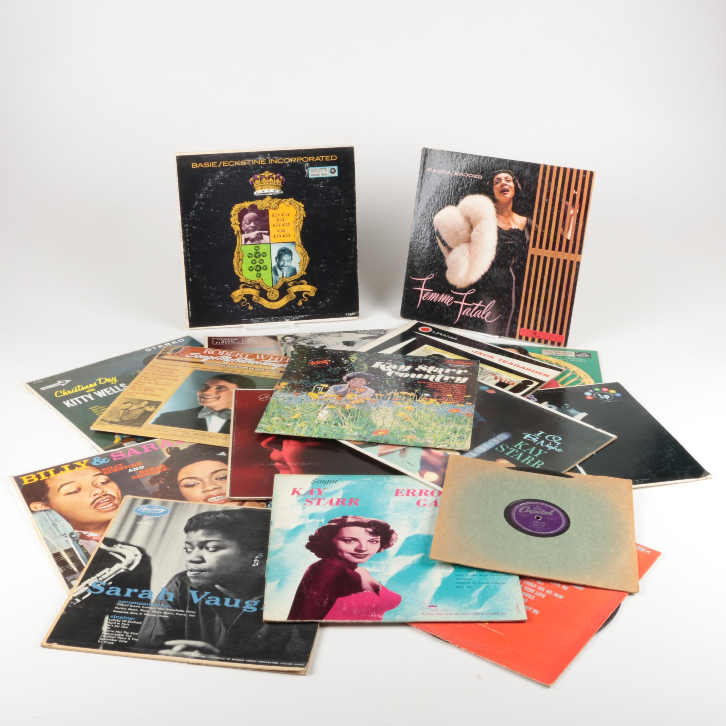 "Sarah Vaughan, ""Basie/Eckstine Incorporated"" and Other Record Albums"
