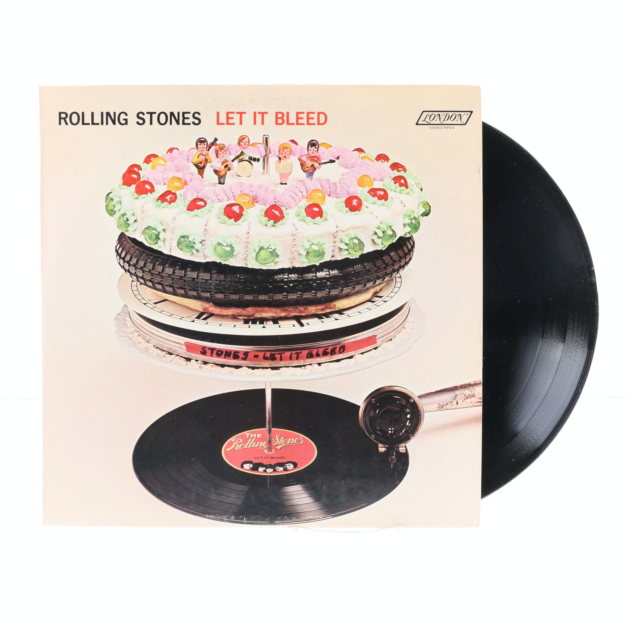 "The Rolling Stones ""Let It Bleed"" Original US Pressing LP"