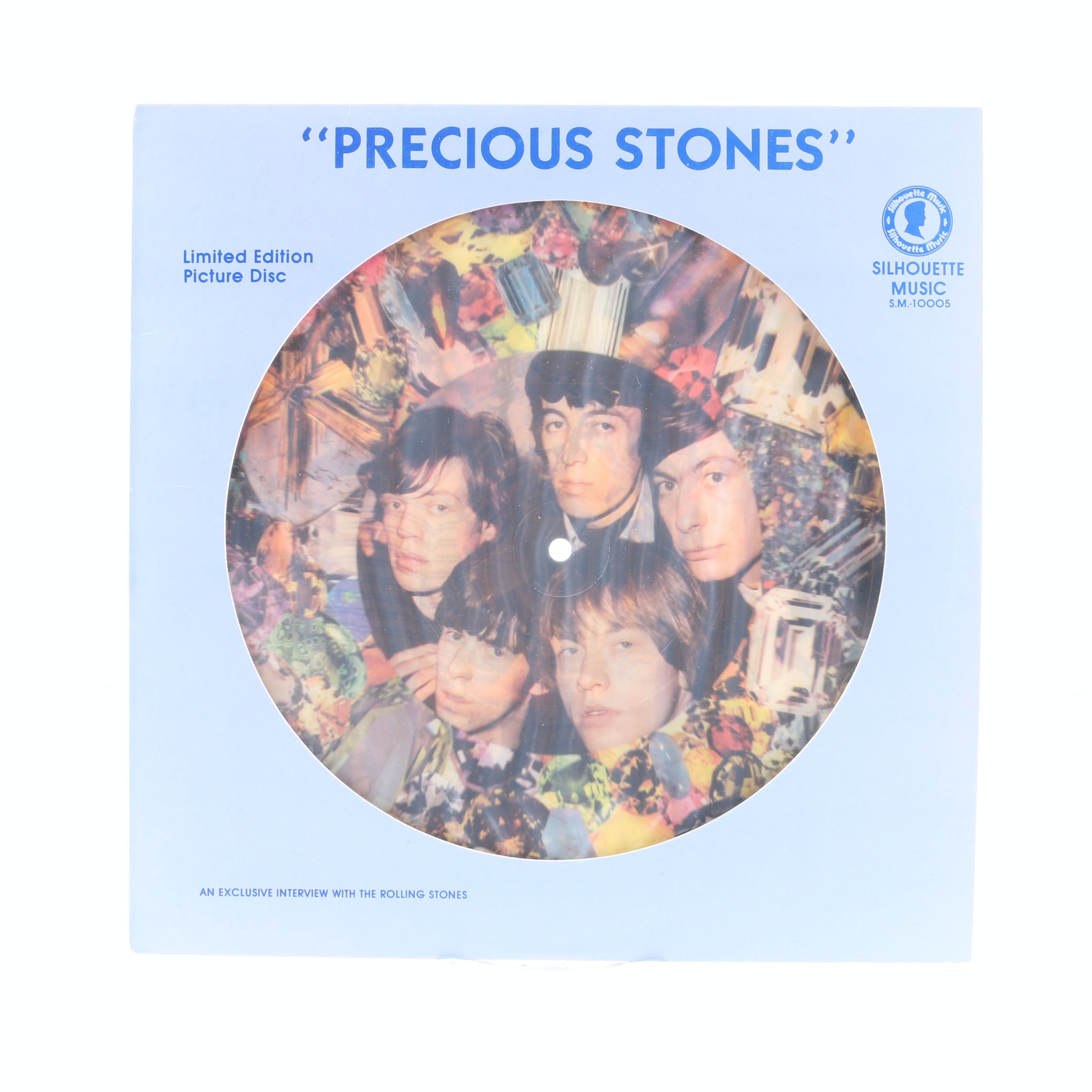 """The Rolling Stones """"Precious Stones"""" Limited Edition Picture Disc LP"""