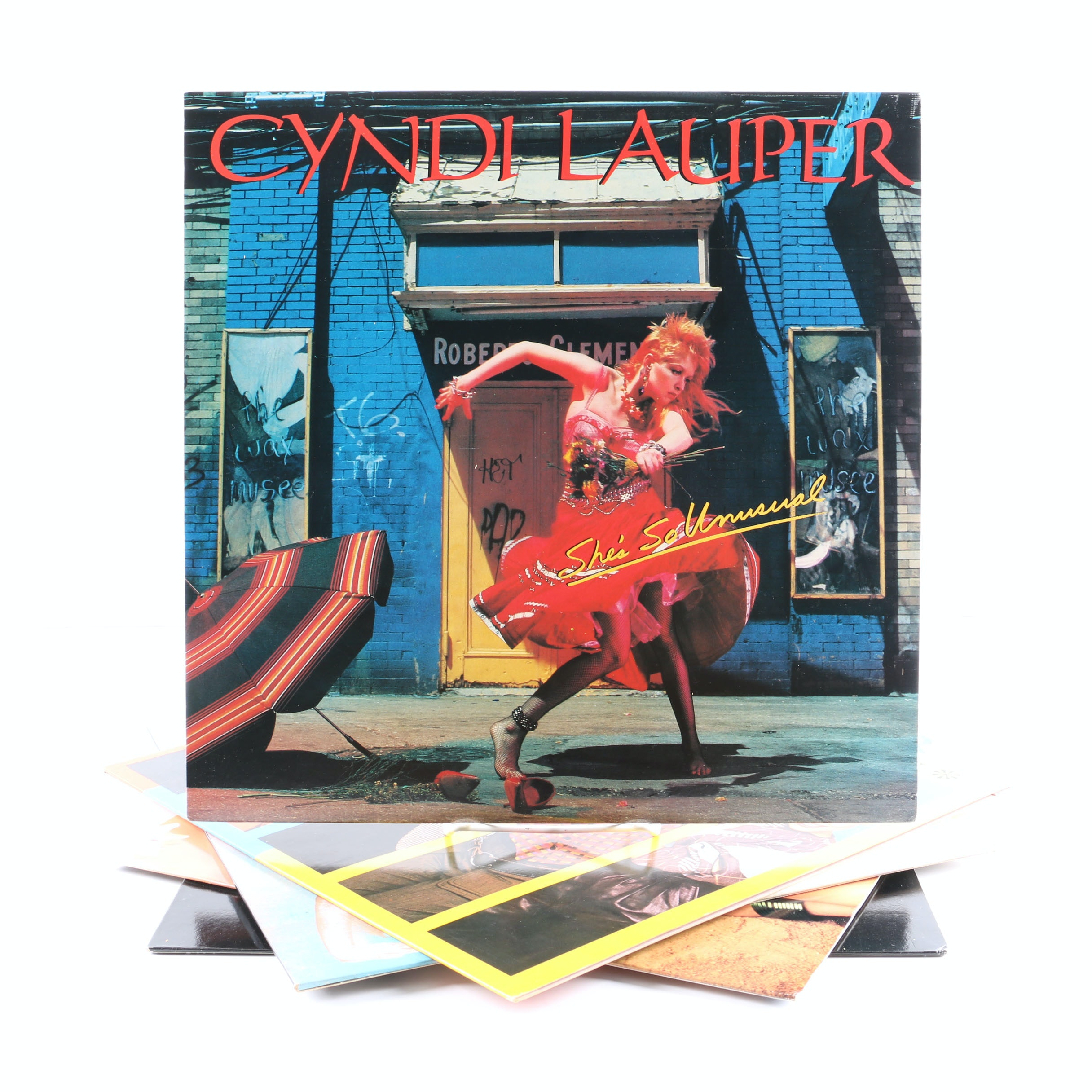 """The Go-Go's and Cyndi Lauper LPs and 12"""" Single"""