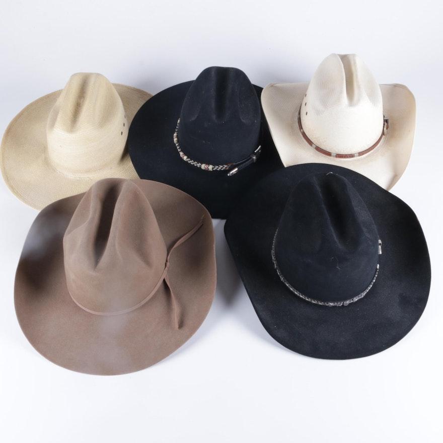 47c5d3b47c58c Men s Cowboy Hat Collection Including Larry Mahan and Stetson   EBTH