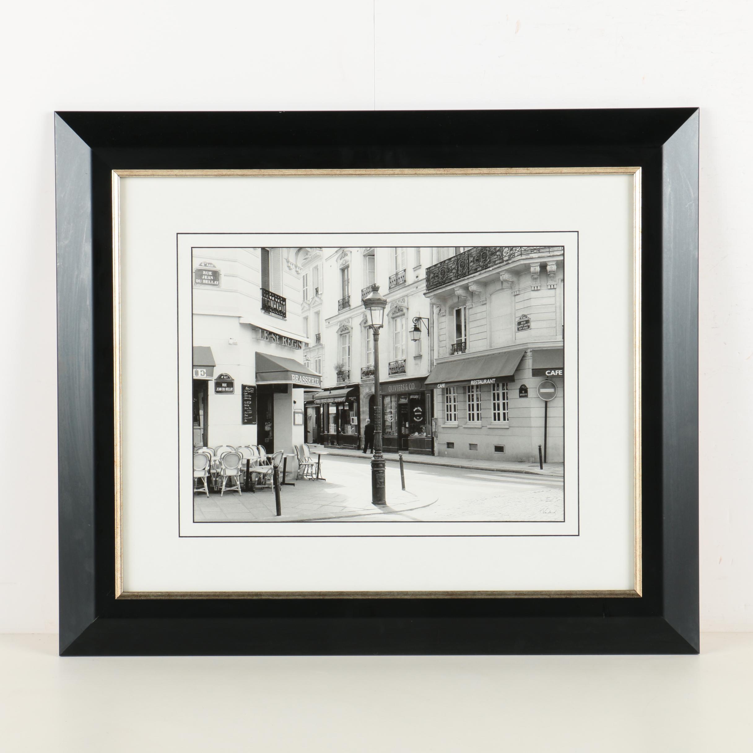 """Offset Lithograph After Toby Vandenack's Photograph """"Le St. Regis"""""""