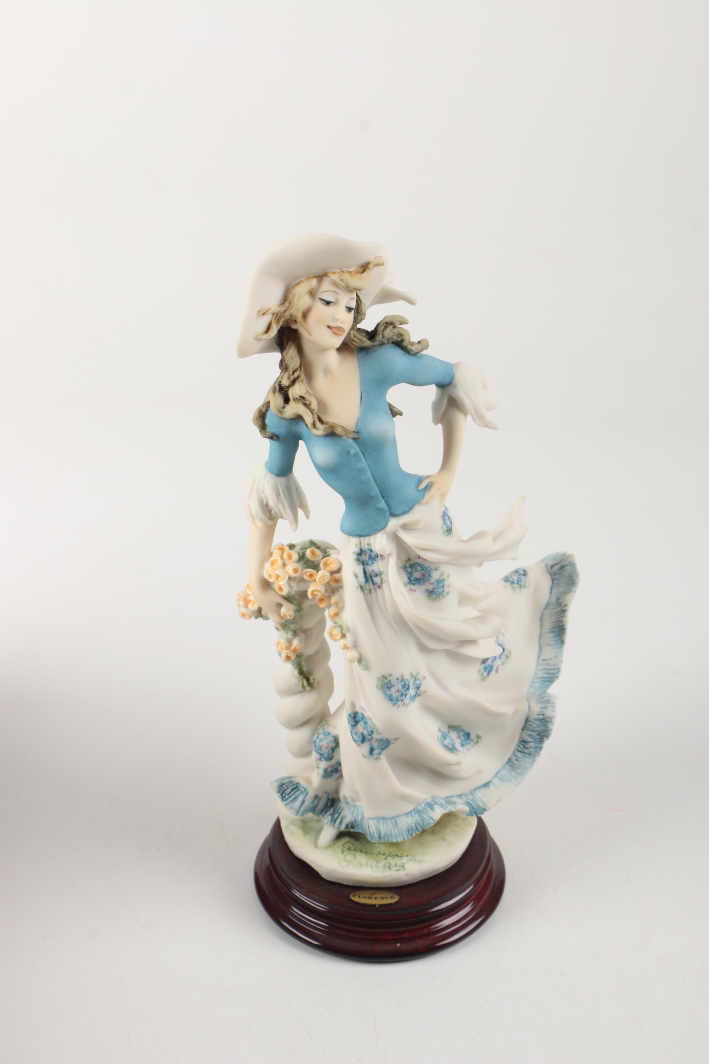 """Guiseppi Armani """"Lady Jane""""  1996 Figurine of The Year"""