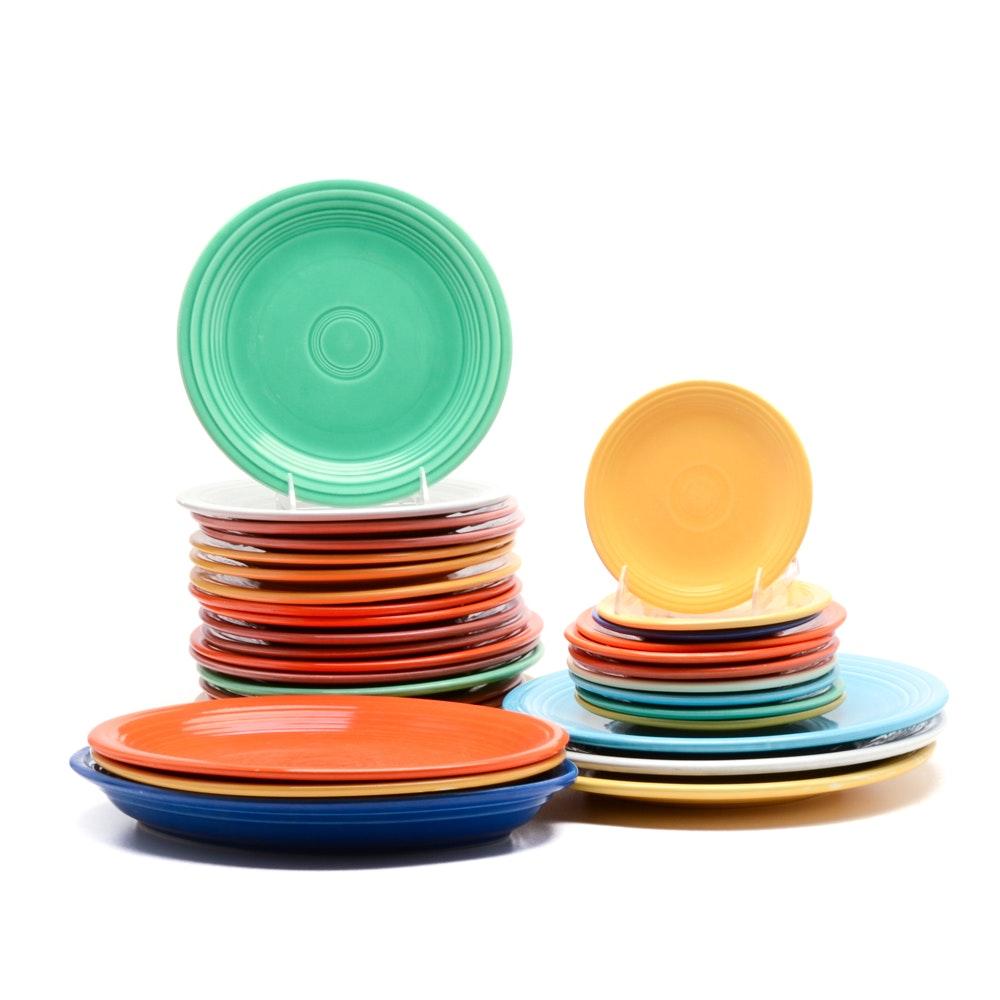 "Collection of Vintage ""Fiesta"" Dinnerware"