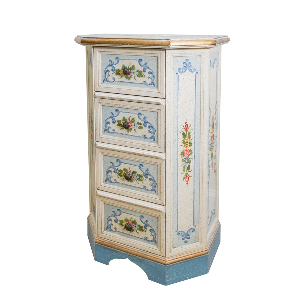Vintage Italian Painted Chest of Drawers