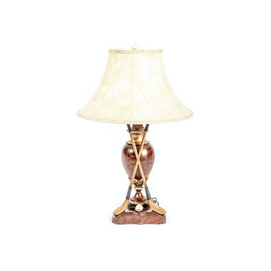 Golf theme table lamp by ok casting ebth golf theme table lamp by ok casting aloadofball Choice Image