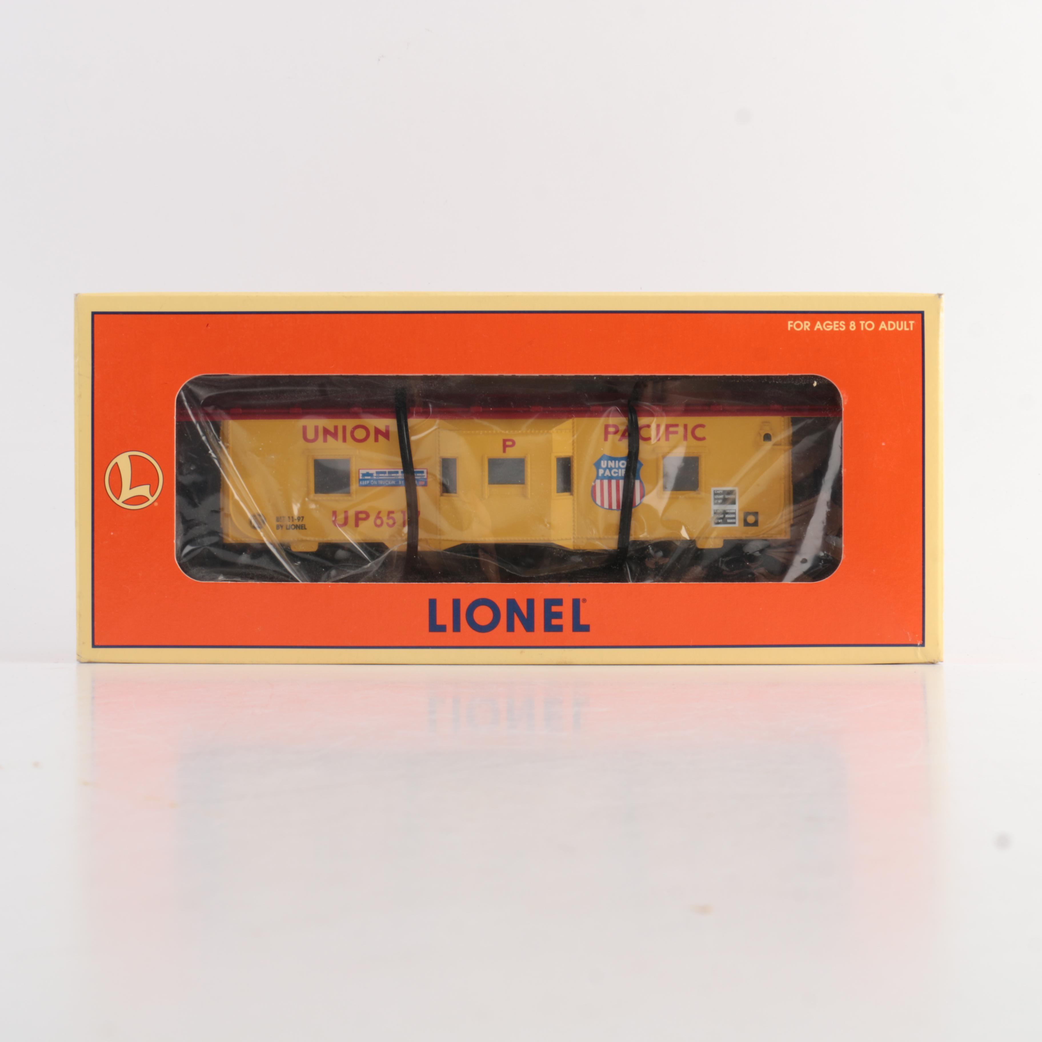 Lionel Union Pacific Bay-Window Caboose