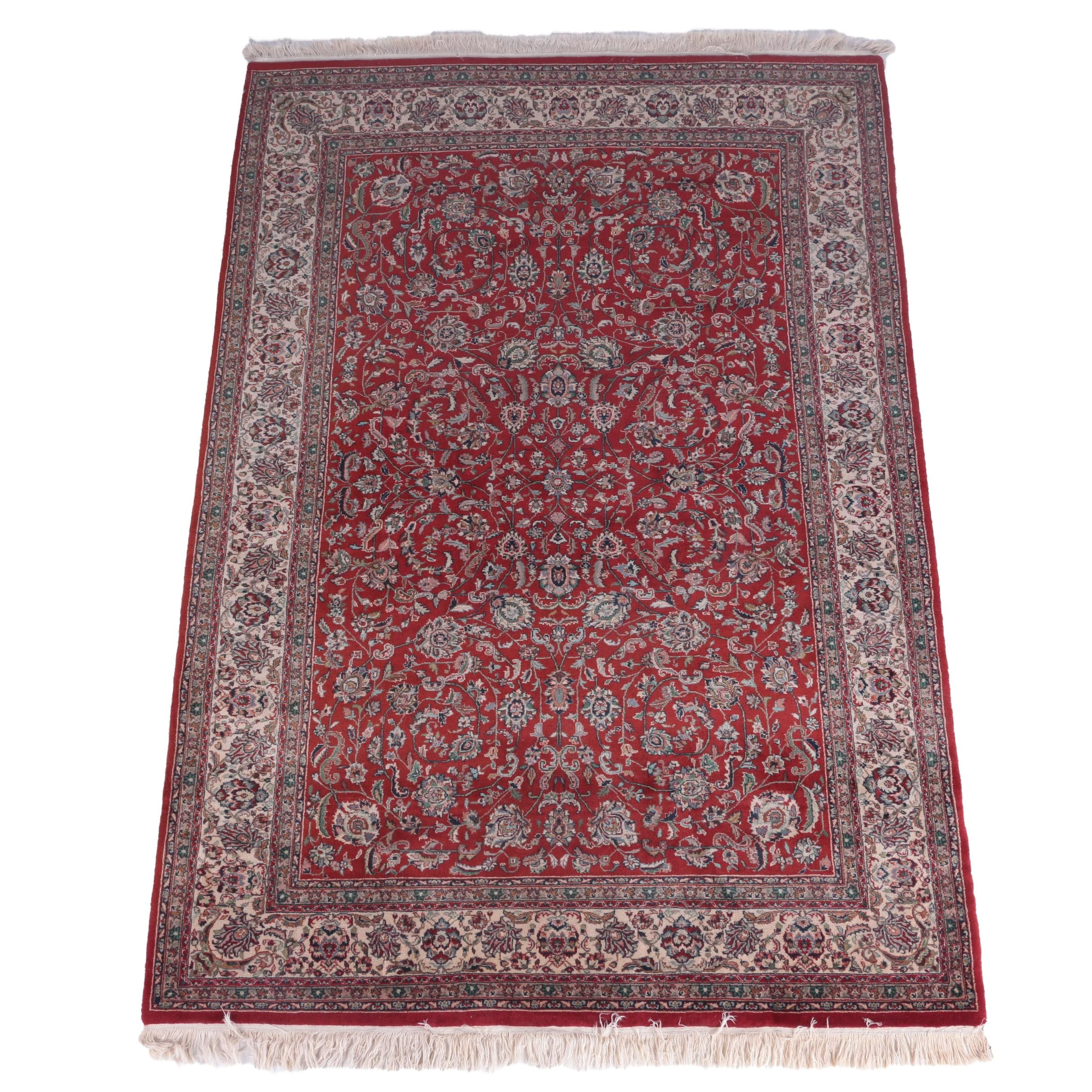"Hand-Knotted Pande Cameron ""Sidhara"" Indo-Persian Area Rug"