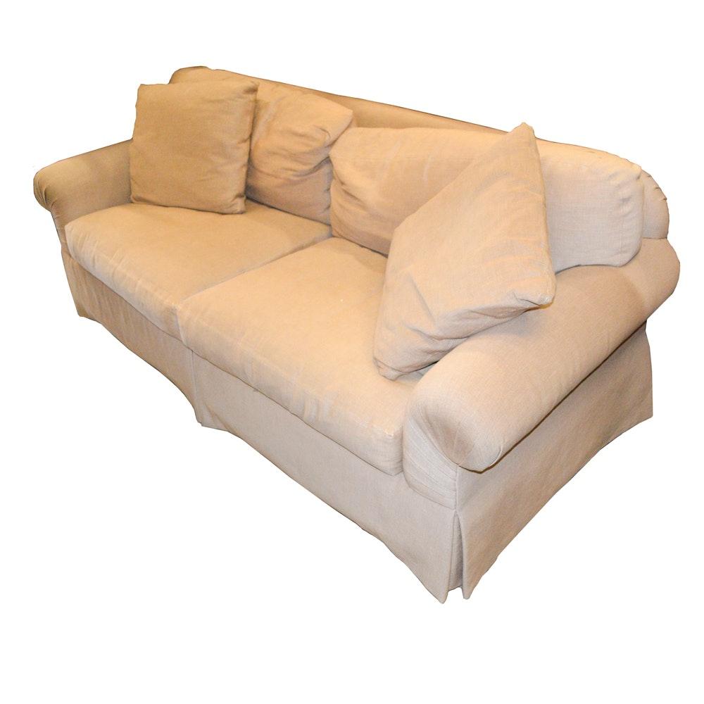 Upholstered Sofa by Sherrill