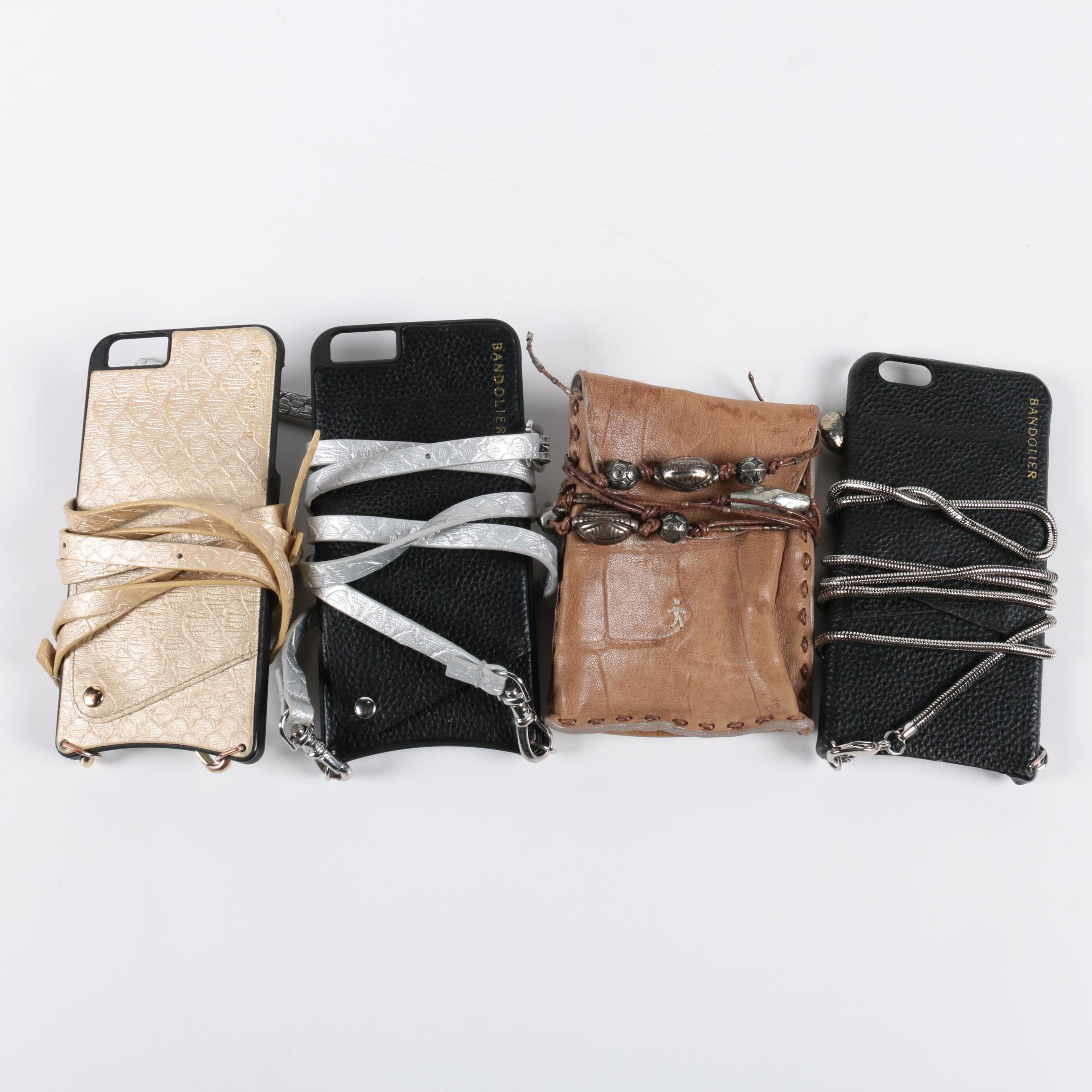 Bandolier iPhone Cases with Lanyards