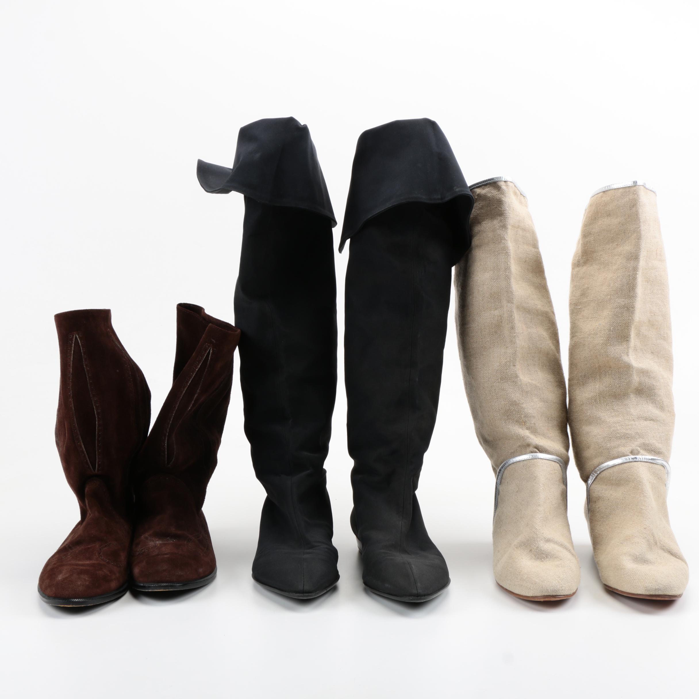 Women's Boots Including Charles Jourdan