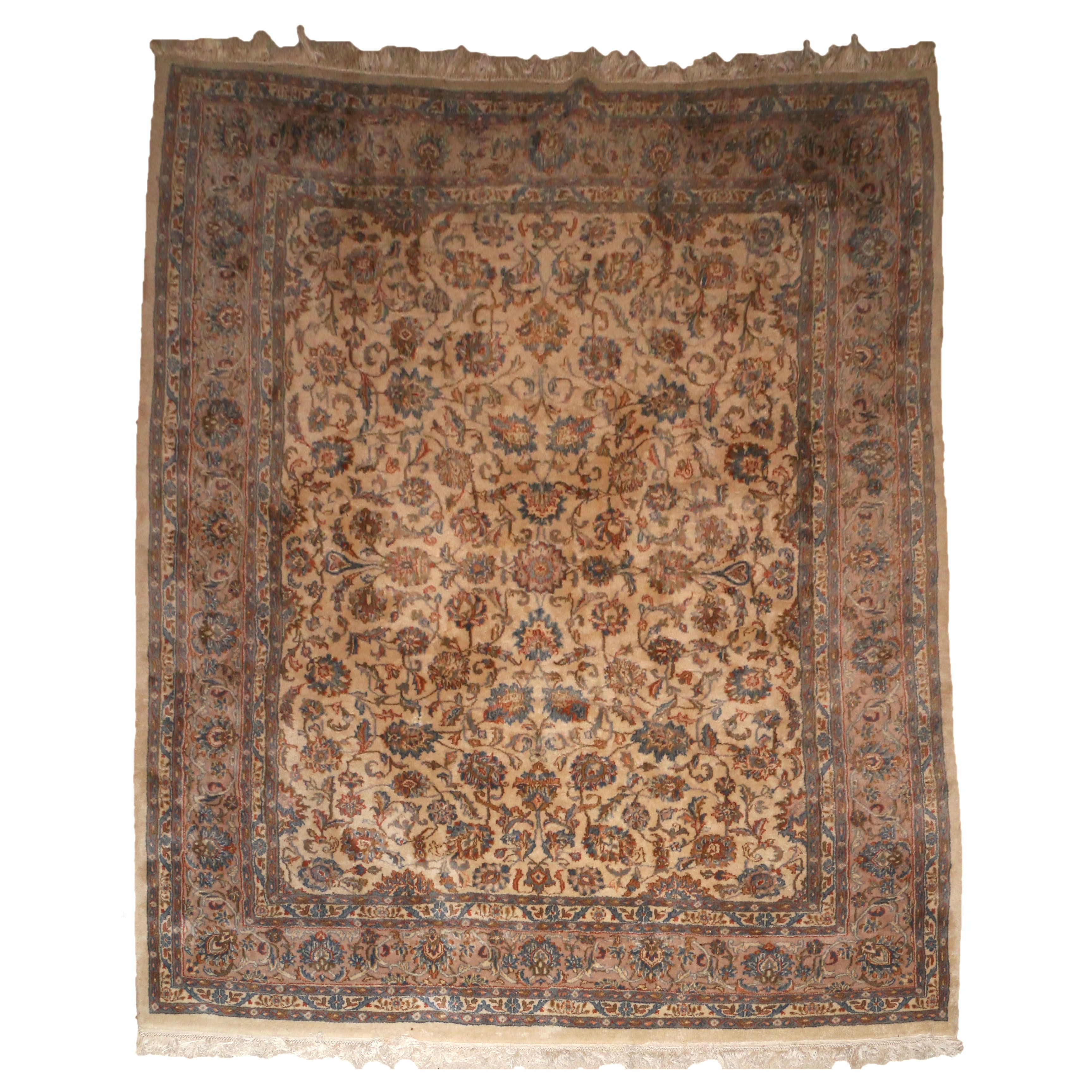 Indo-Persian Tabriz Wool Area Rug