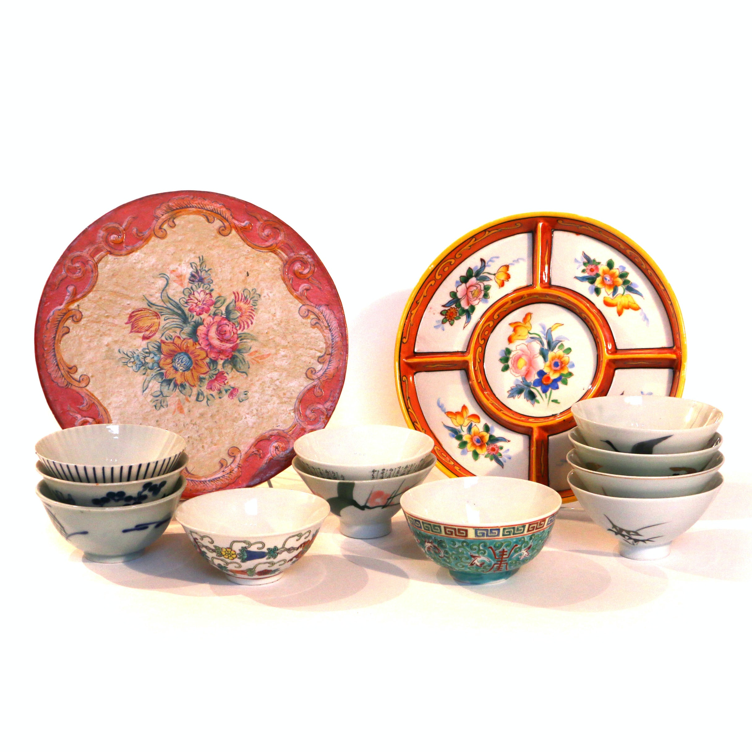 East Asian Rice Bowls and Serveware