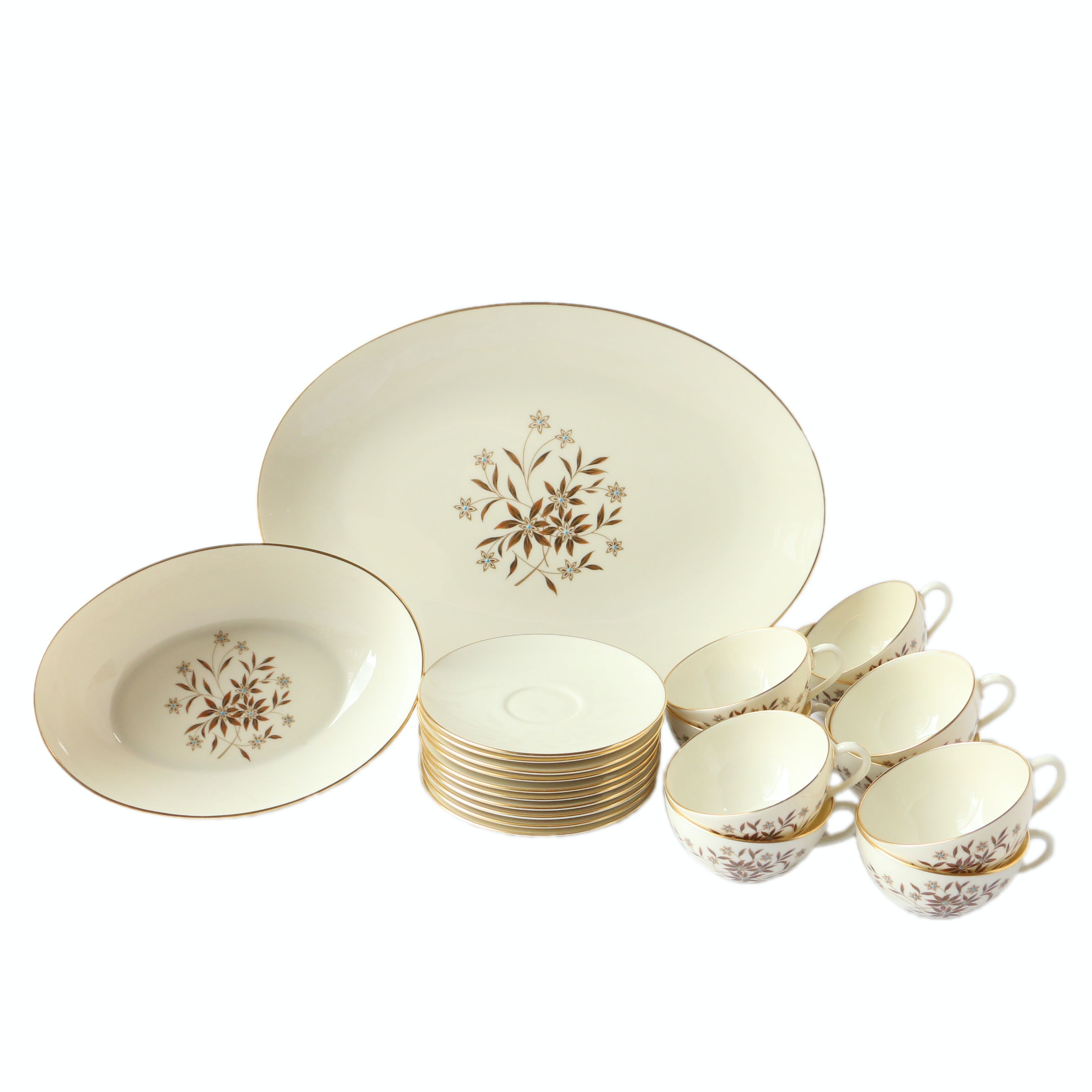 "Lenox ""Starlight"" Serving Ware"