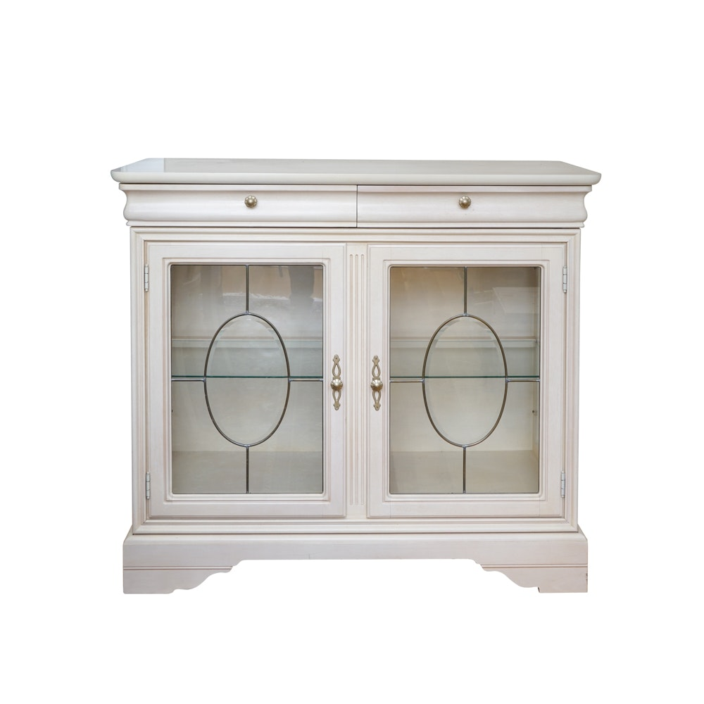 Leaded Glass Credenza from Lexington Furniture