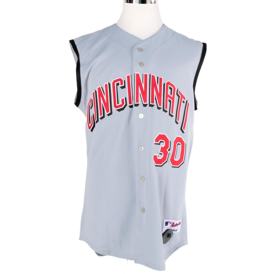 buy popular ebfdd 36e0c Ken Griffey Jr. Replica Cincinnati Reds Jersey