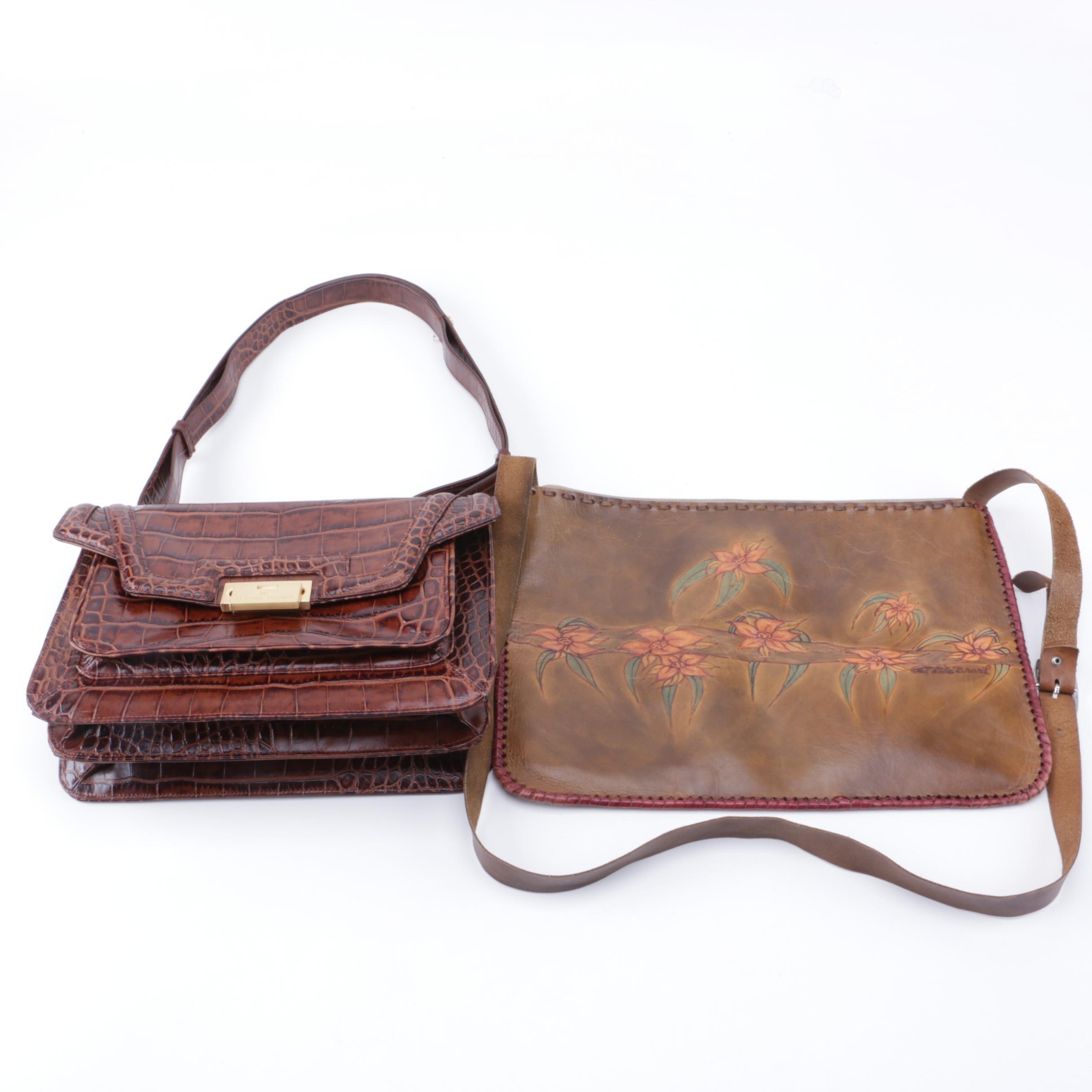 Women's Brown Leather Handbags