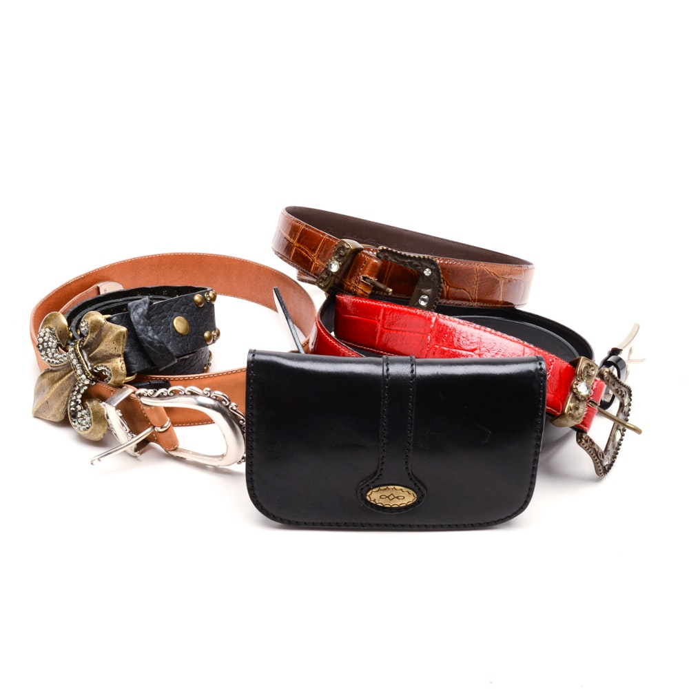 Collection of Women's Leather Belts