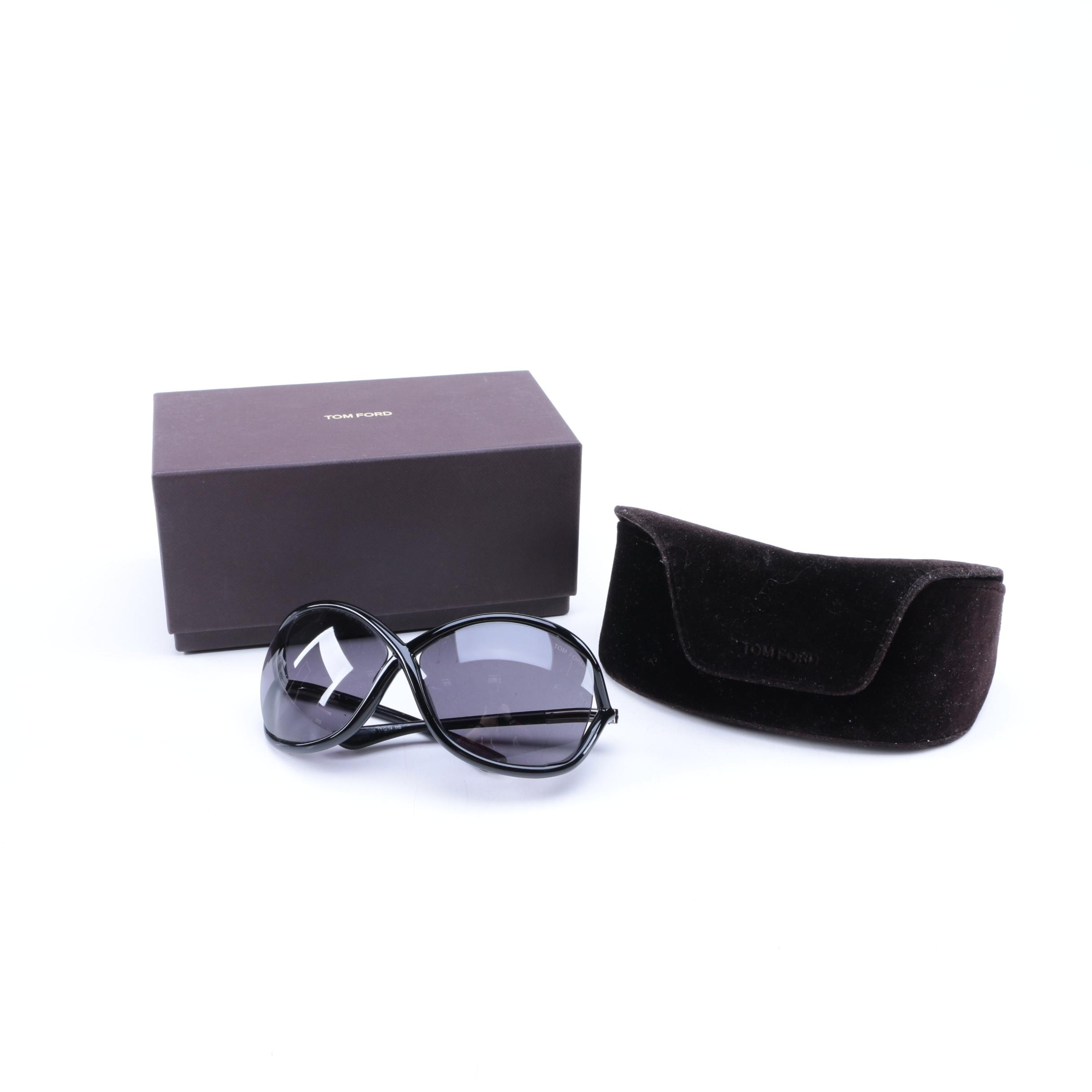 """Tom Ford """"Whitney"""" Sunglasses with Case"""