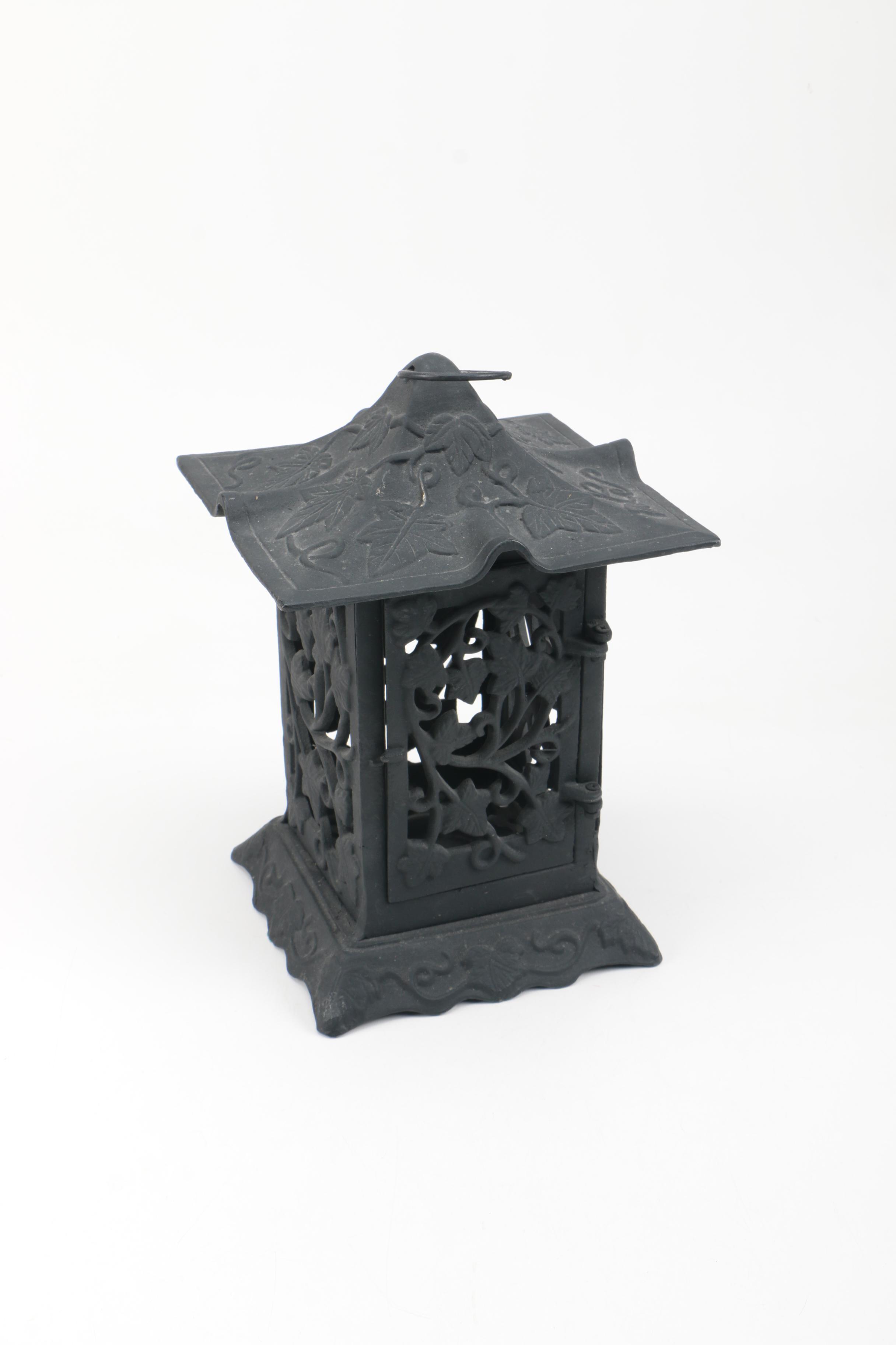 Cast Iron Pagoda Style Lantern