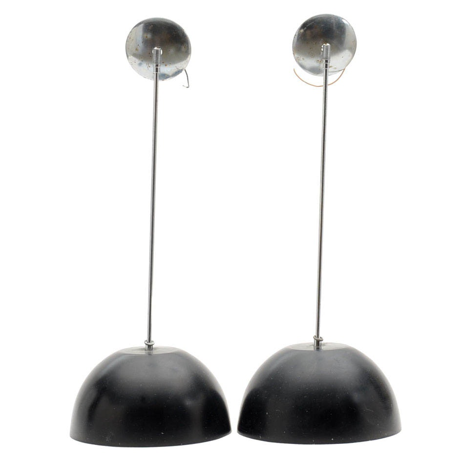 Vintage Mid Century Modern Hanging Pendant Lights