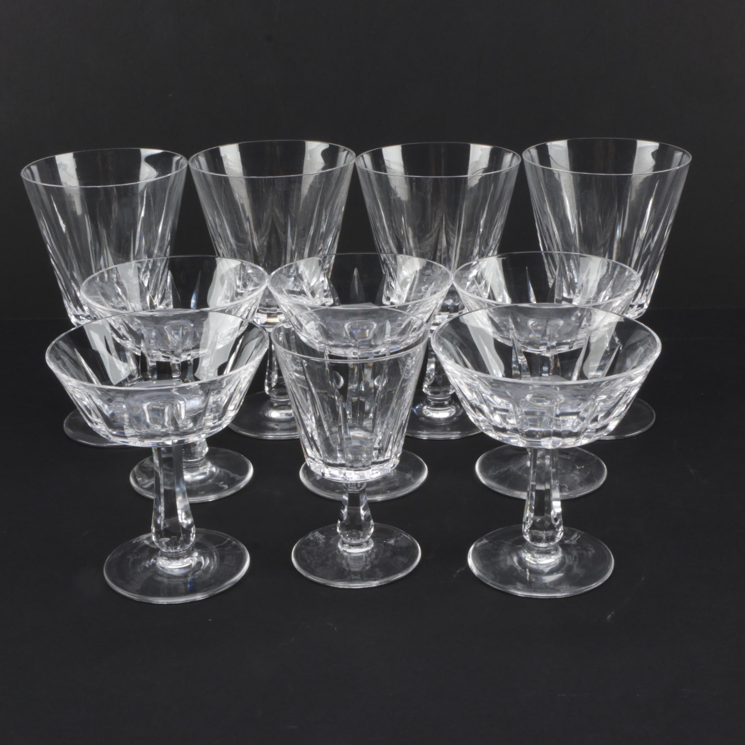 Collection of Crystal Stemware