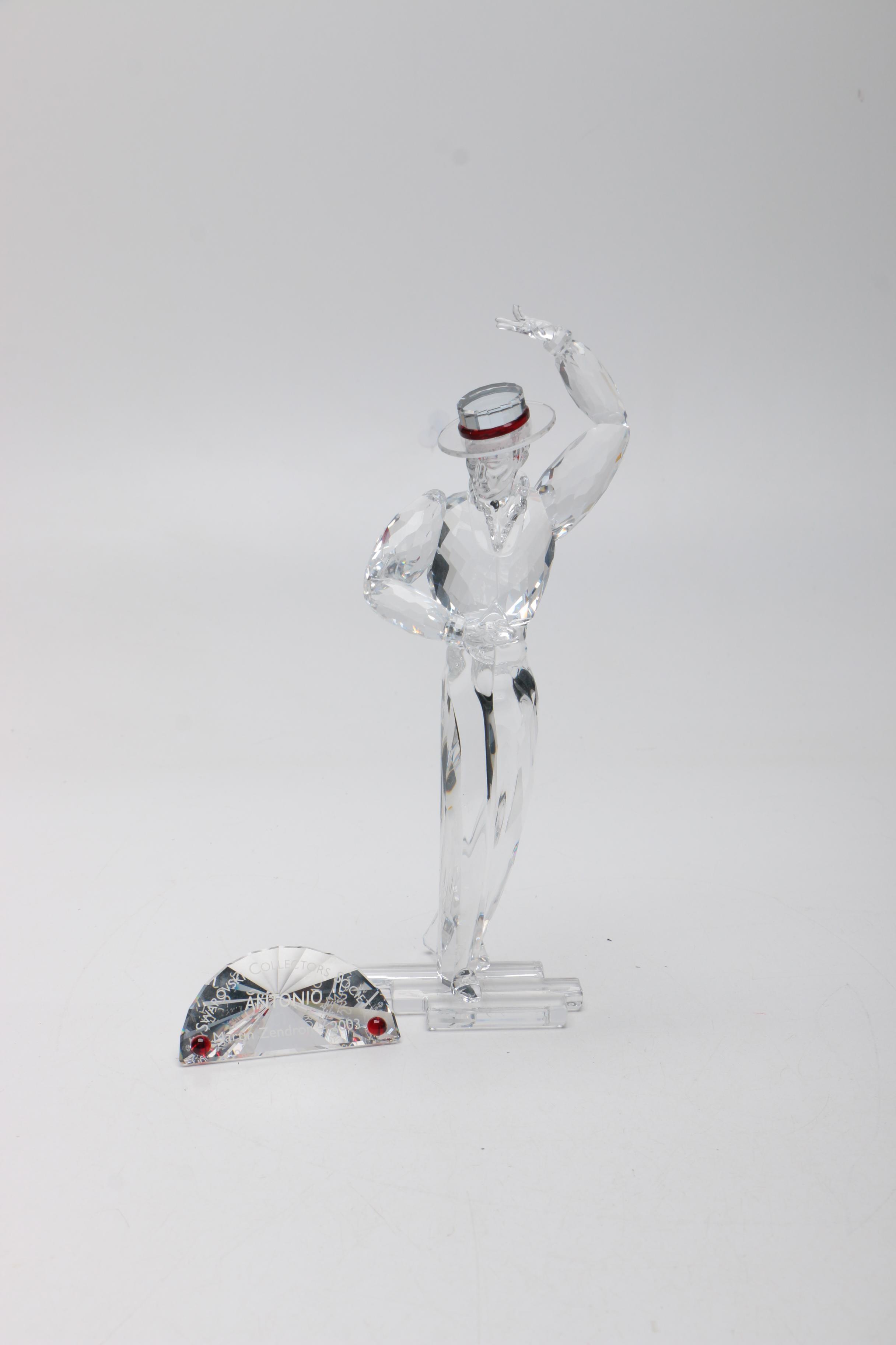 "Swarovski ""Magic of Dance"" Antonio Crystal Figurine"