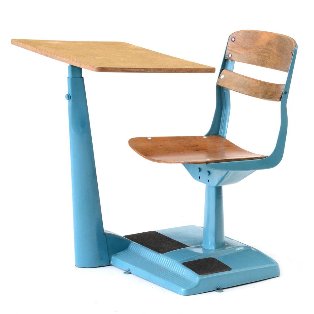 Mid Century Modern School Desk
