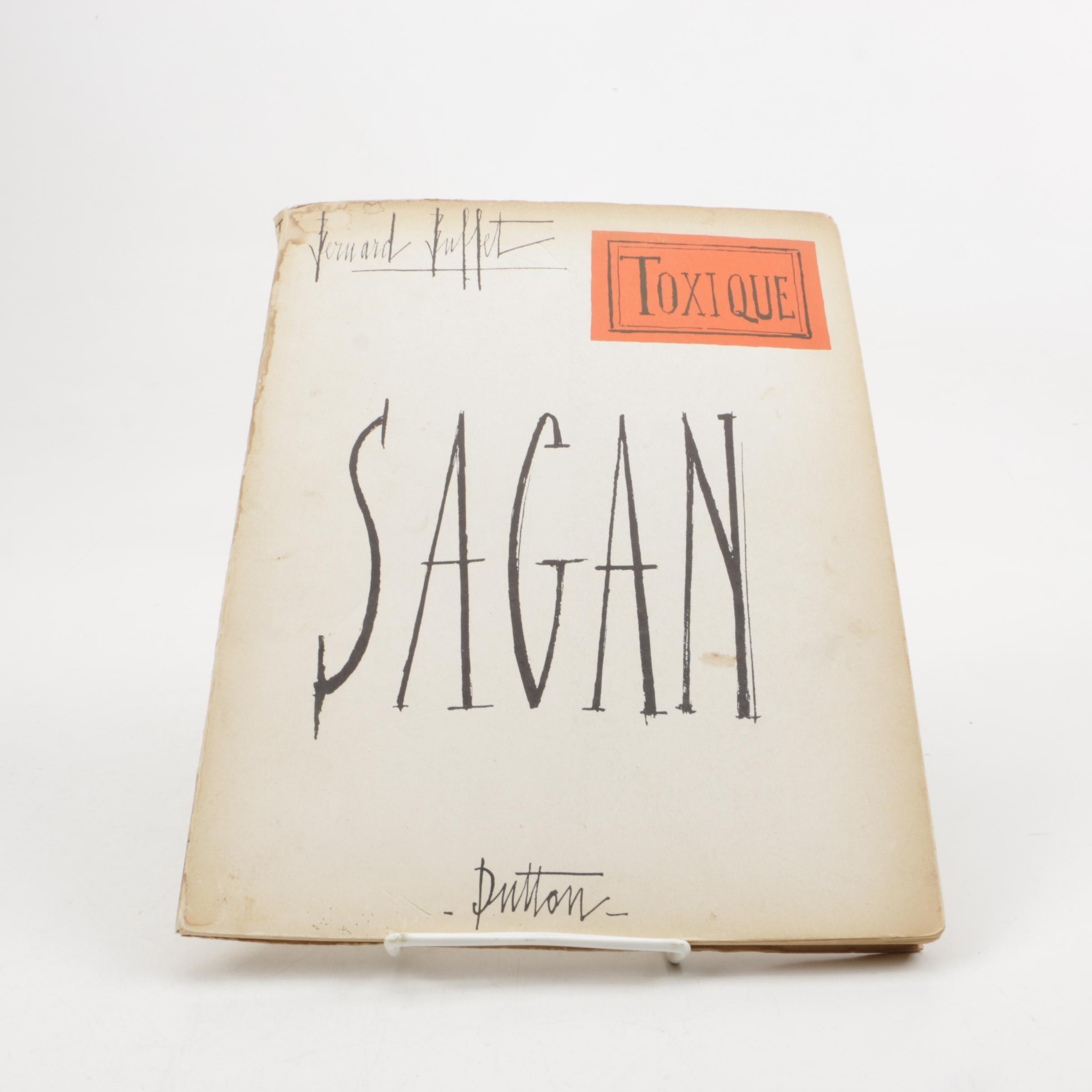 "1964 ""Toxique"" by Françoise Sagan"