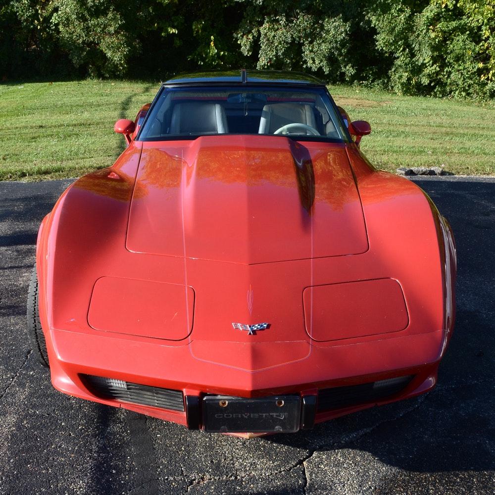 1979 Red Chevrolet Corvette