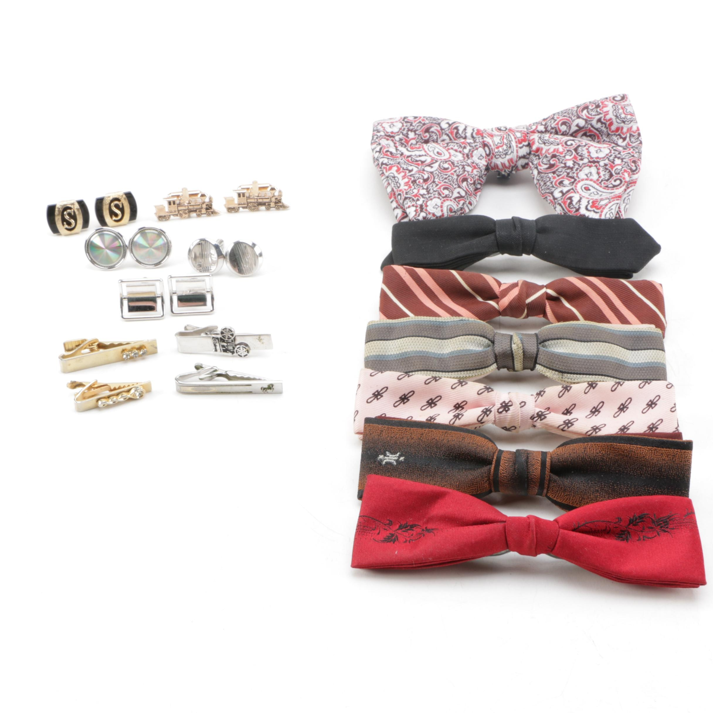 Bow Ties, Cufflinks and Tie Clips