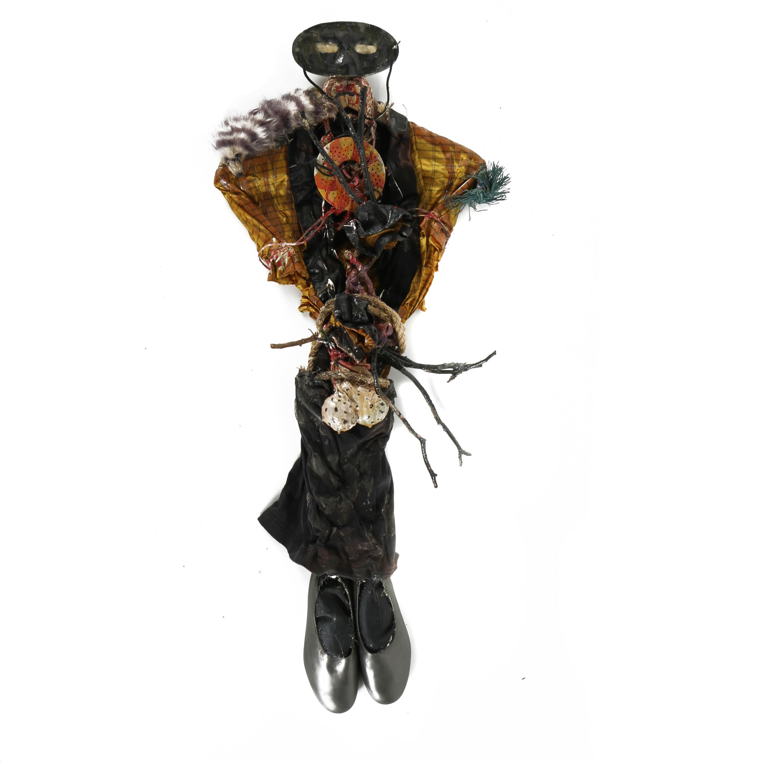 Frank Kowing Mixed Media Sculpture of a Figure