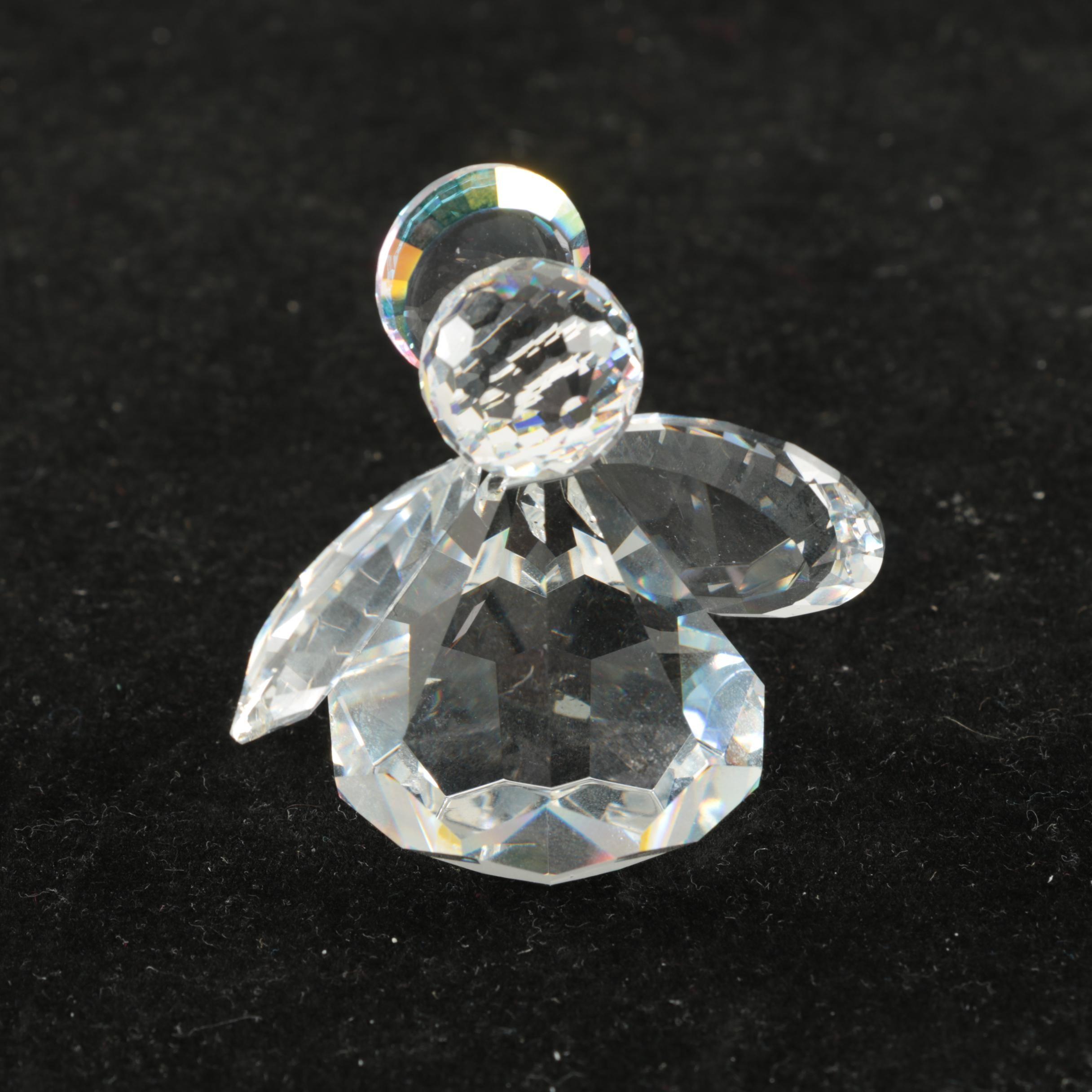 "Swarovski Crystal ""Zoo"" Collection Angel"