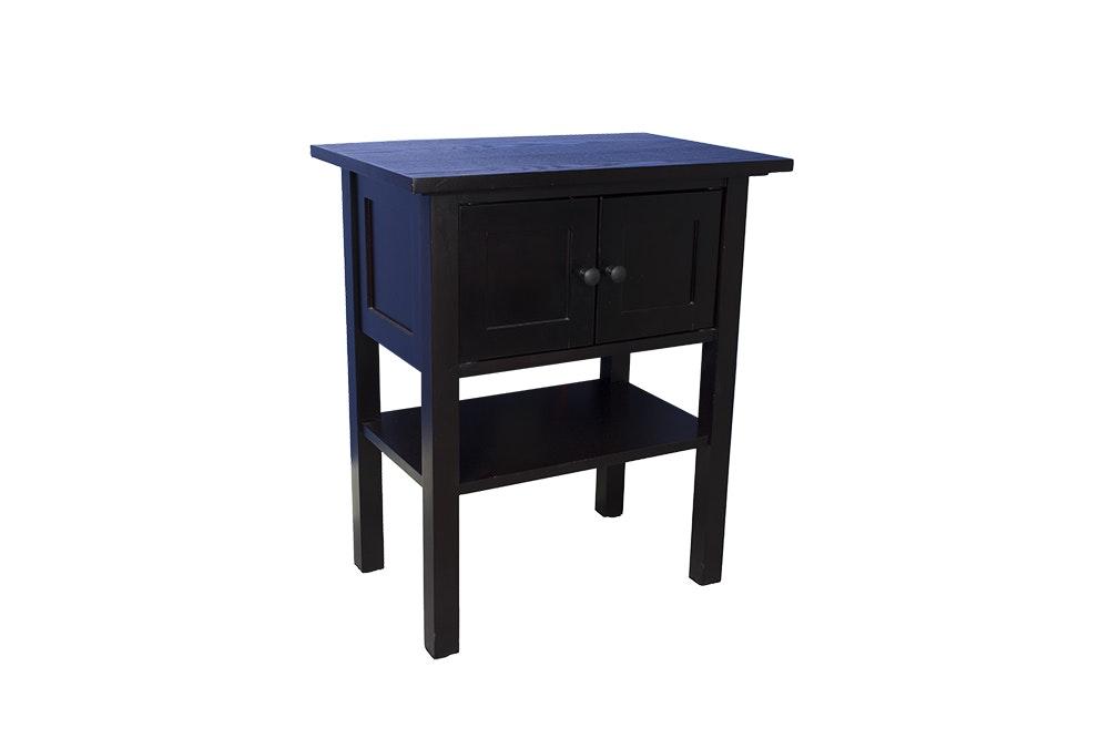 Mission Style Oak Side Table