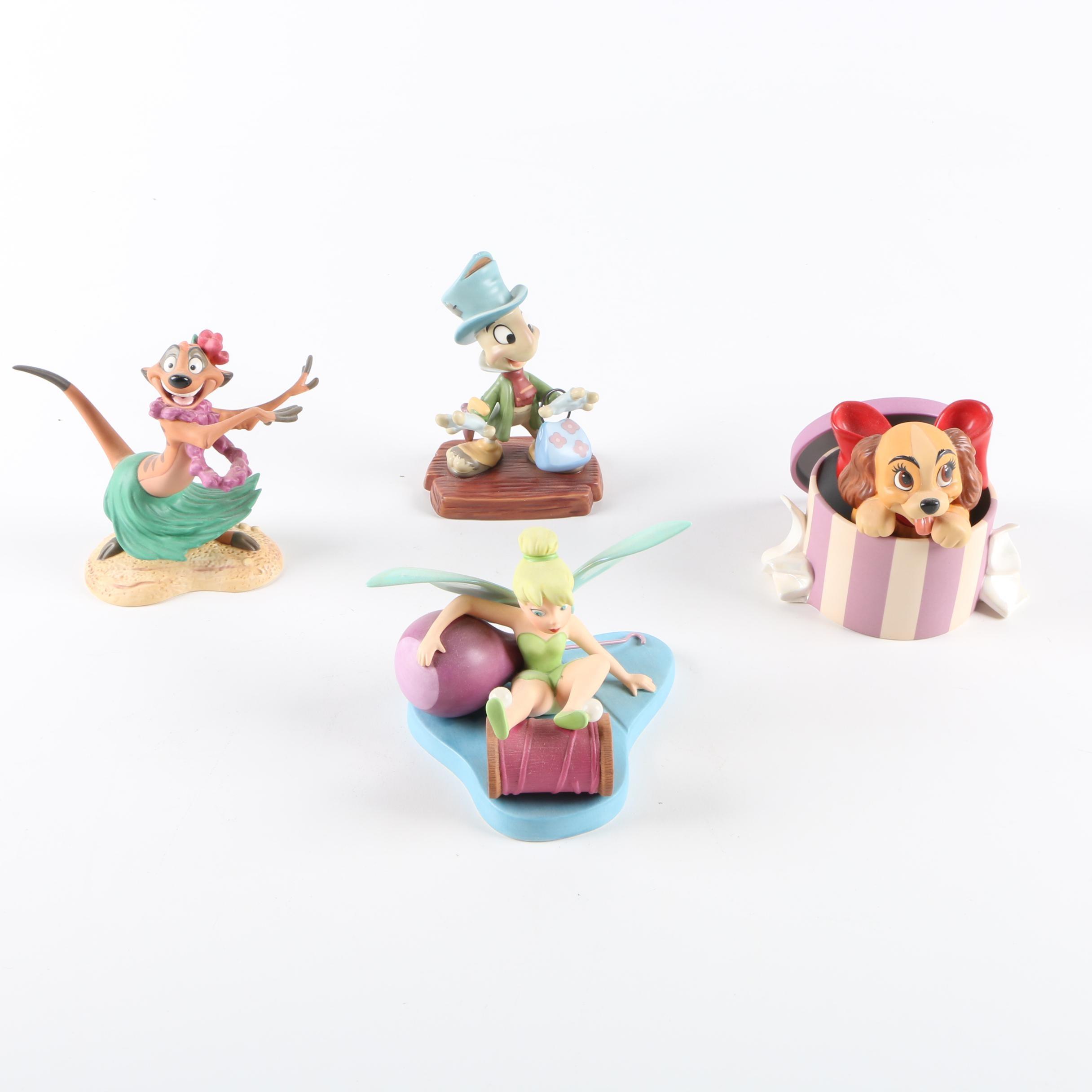 Four Disney Classics Collection Figurines