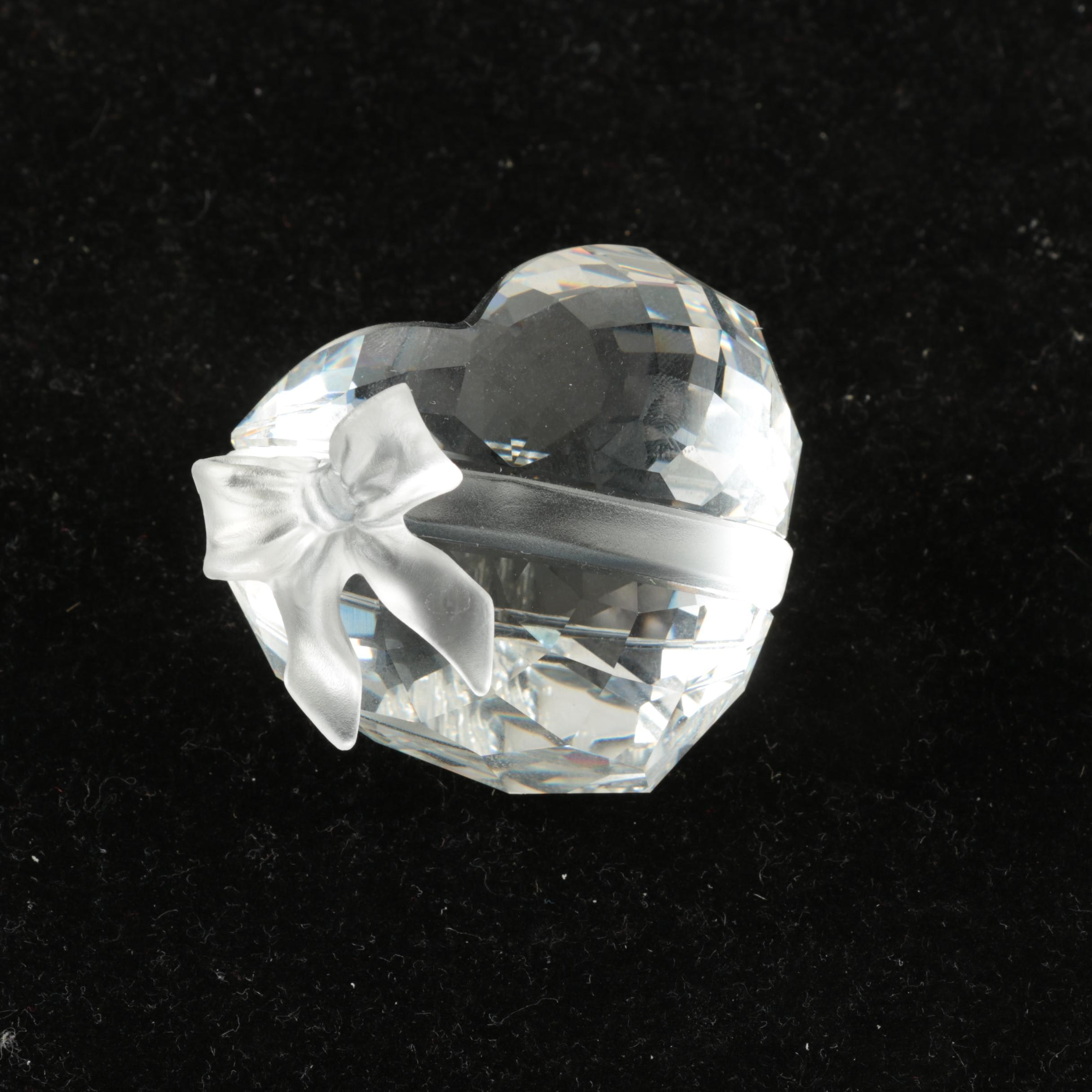 Swarovski Crystal Heart in Box
