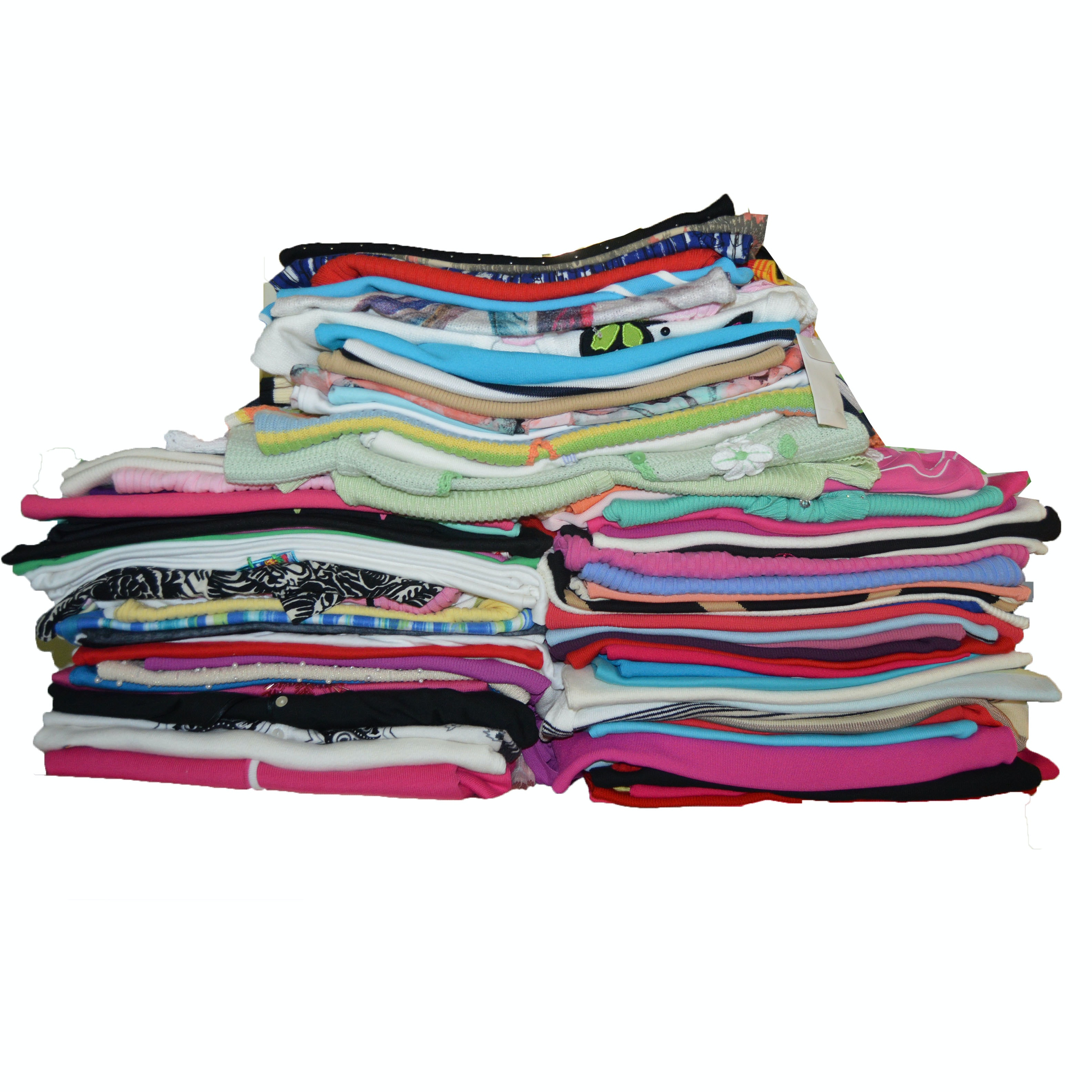 More Than Fifty Women's Short Sleeve  and Sleeveless Knit Tops
