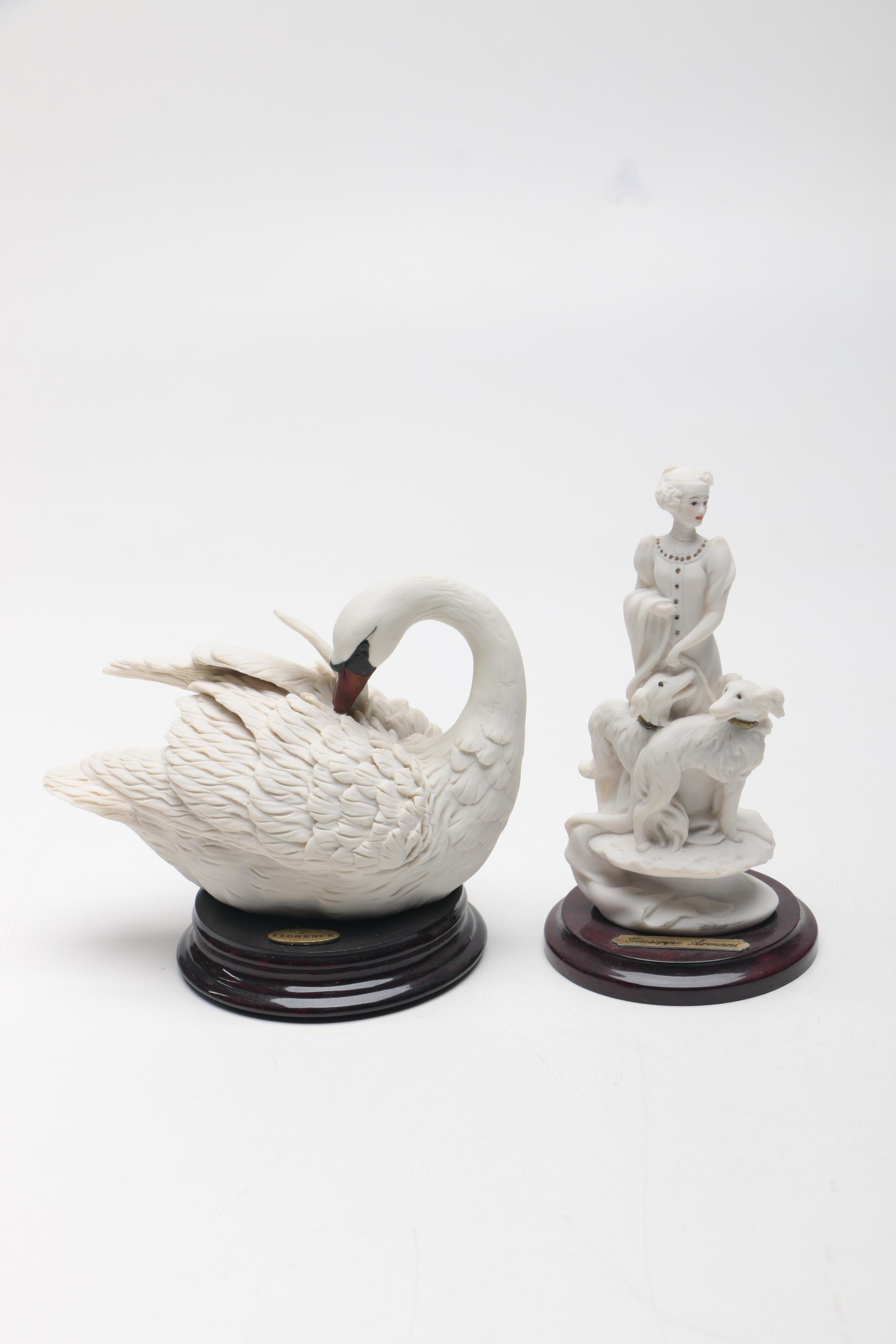 Pair of Figurines by Guiseppe Armani for Florence