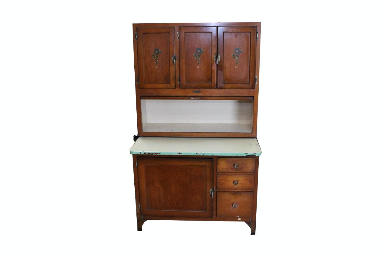 1930s Maple Sellers Hoosier Cabinet ...  sc 1 st  EBTH.com & 1930s Maple Sellers Hoosier Cabinet : EBTH