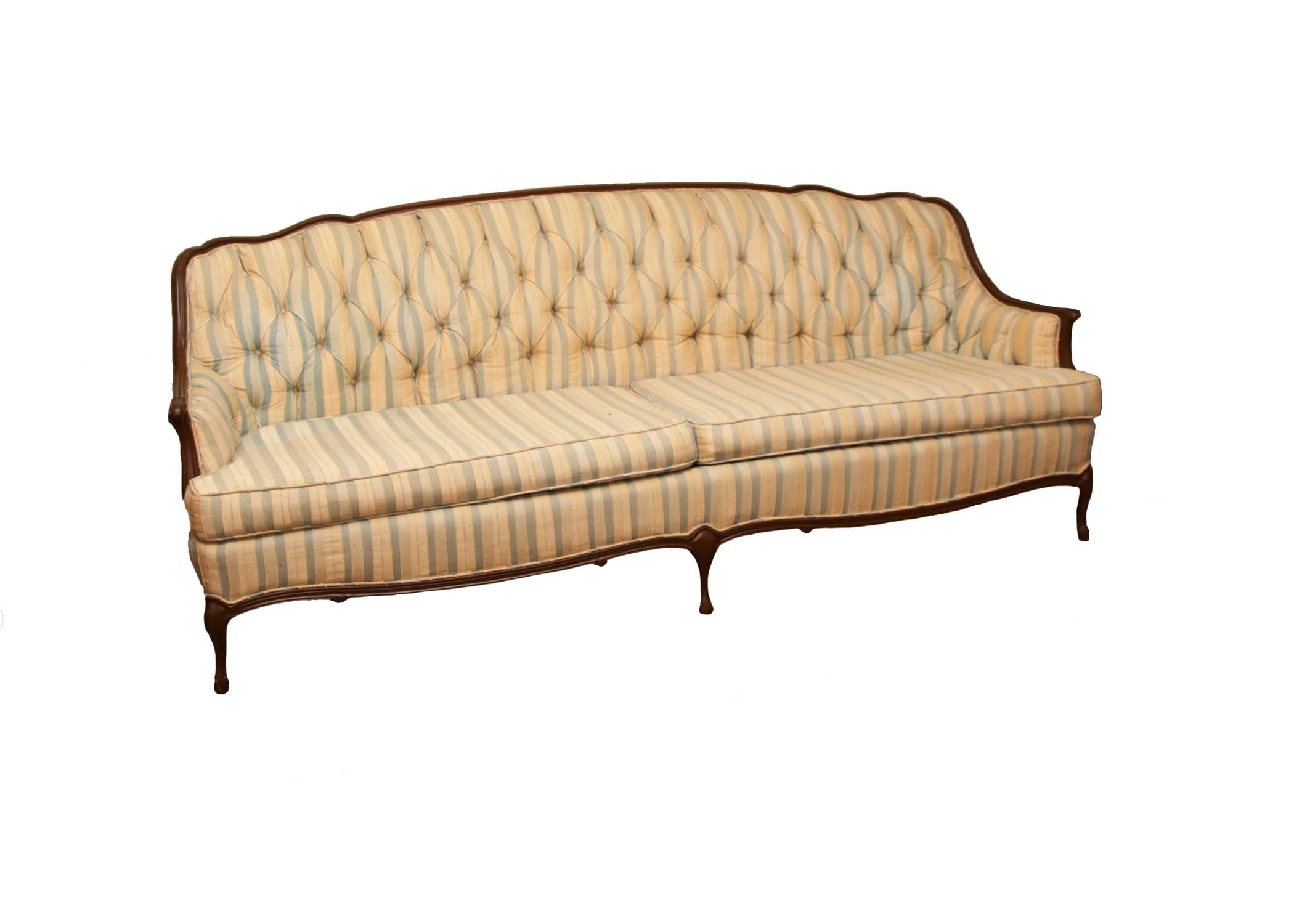 Vintage French Provincial Sofa ...